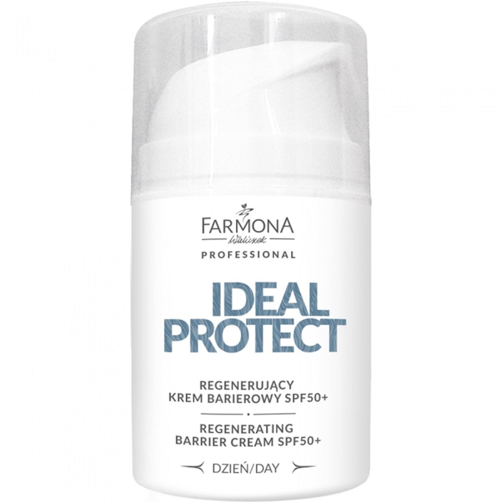 Gündüz üz kremi Farmona Professional Ideal Protect Regenerating Day Cream SPF50+ 50 ml