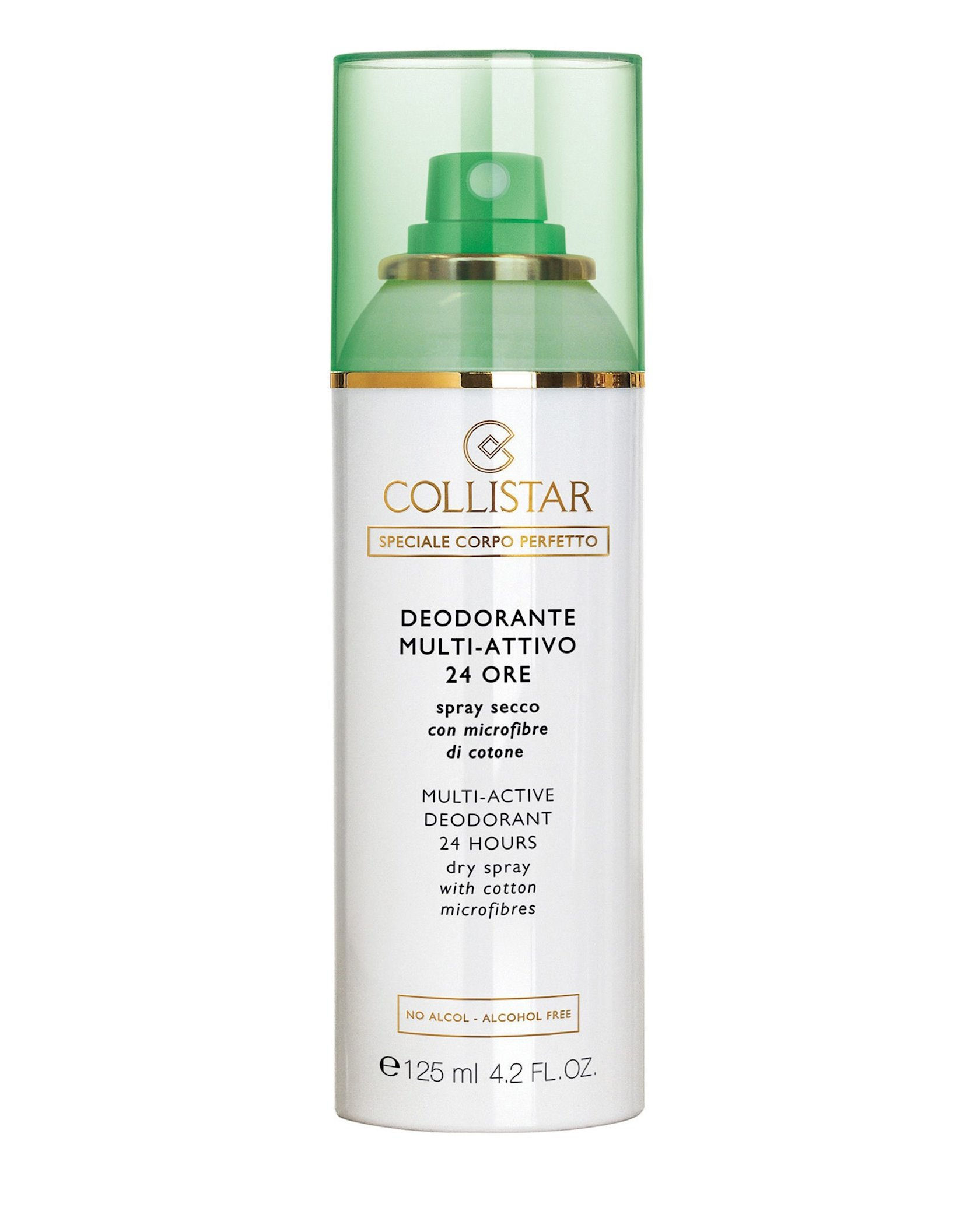 Quru dezodorant-sprey Collistar Multi-Active Deodorant 24h Dry Spray 125ml