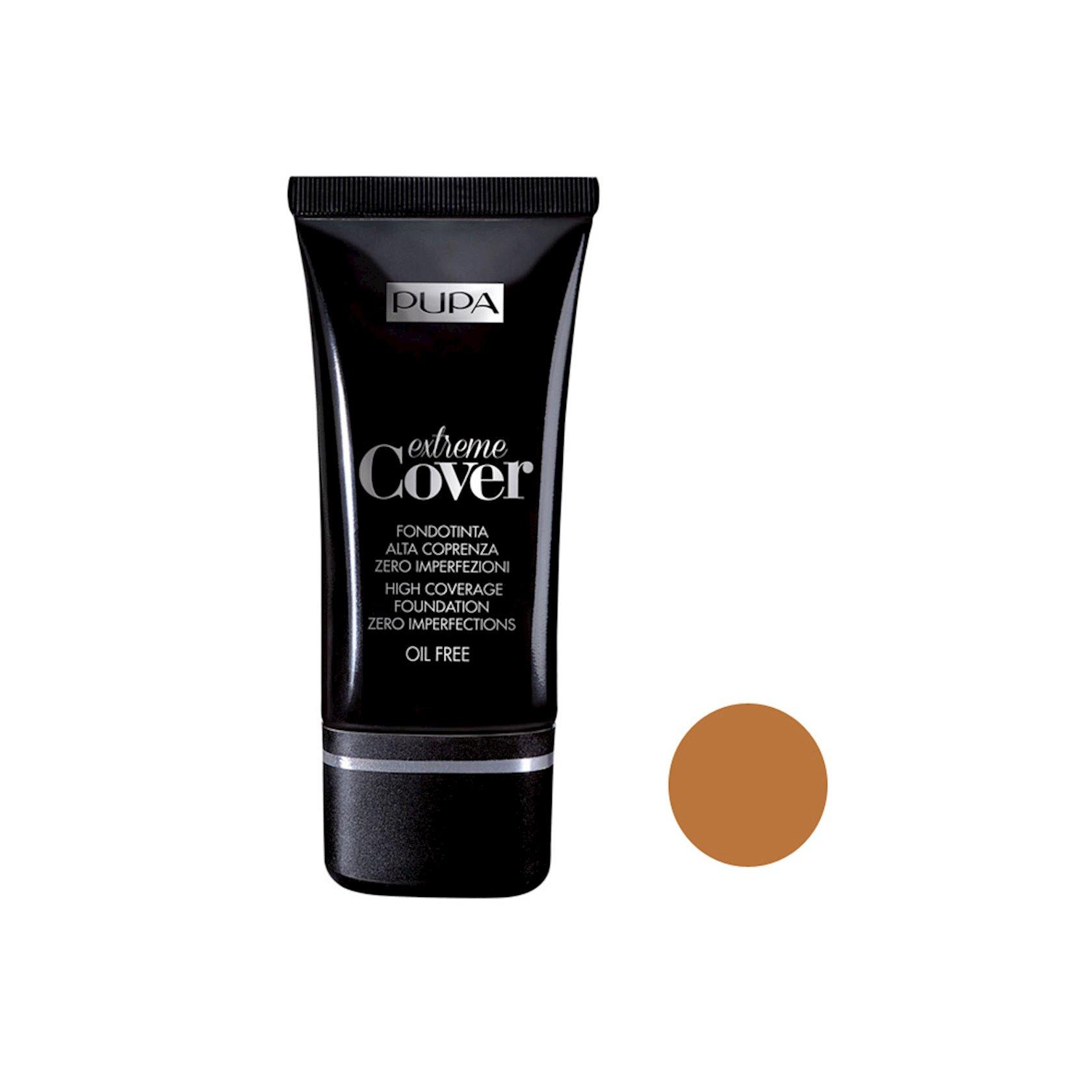 Tonal baza  Pupa Extreme Cover Face Foundation ton 003  Dark Ivory 30 ml