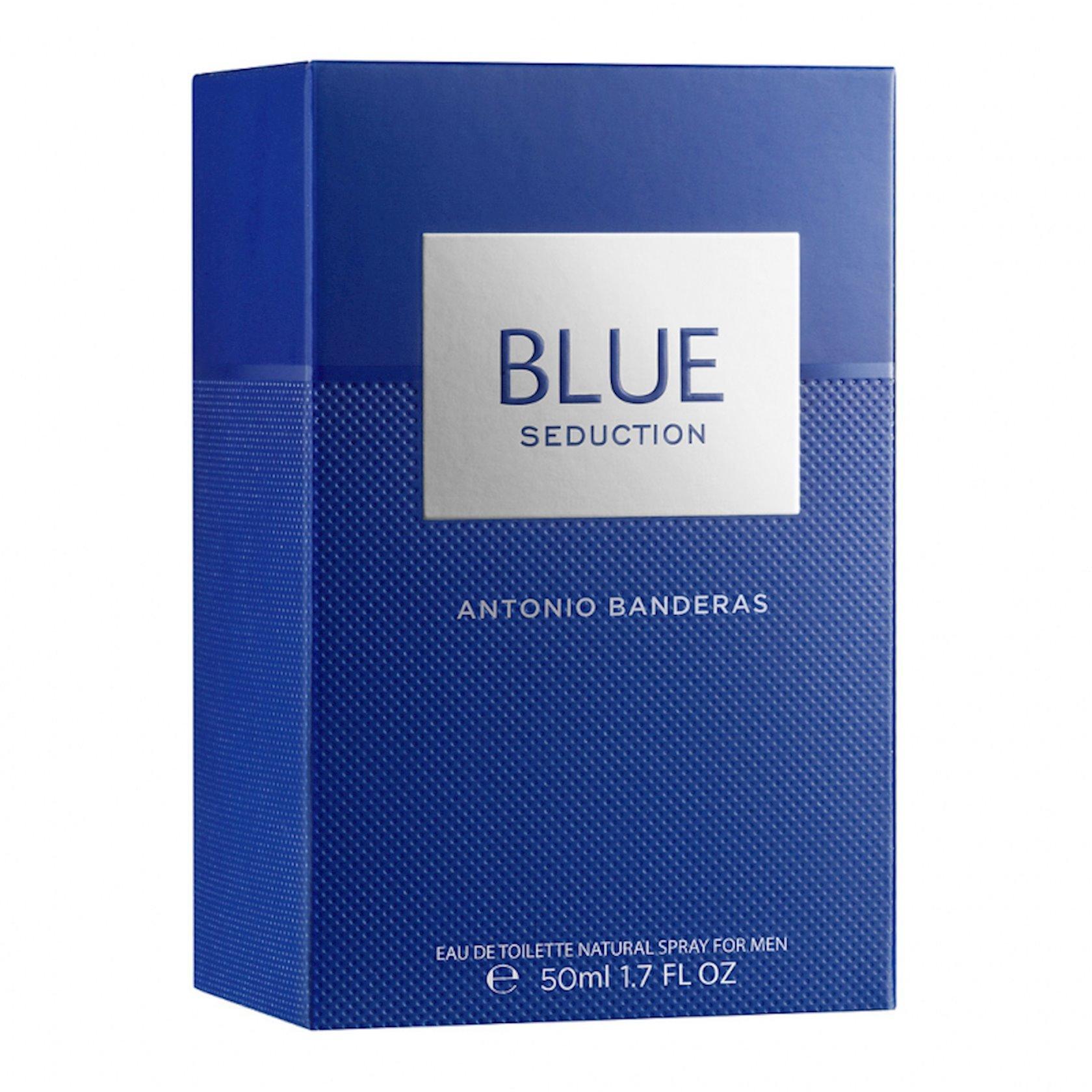 Kişilər üçün tualet suyu Antonio Banderas Blue Seduction 50 ml