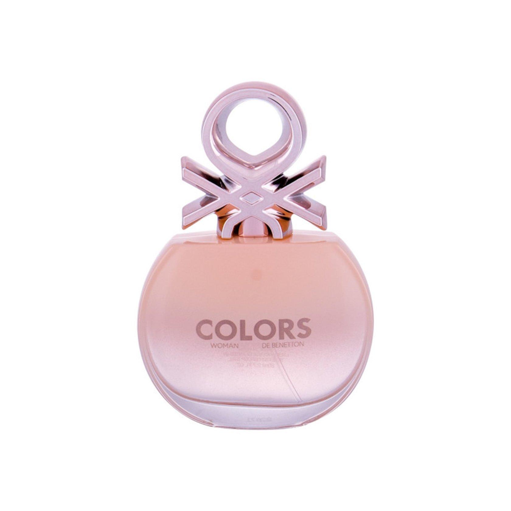 Qadınlar üçün tualet suyu United Colors of Benetton Woman Rose 80 ml