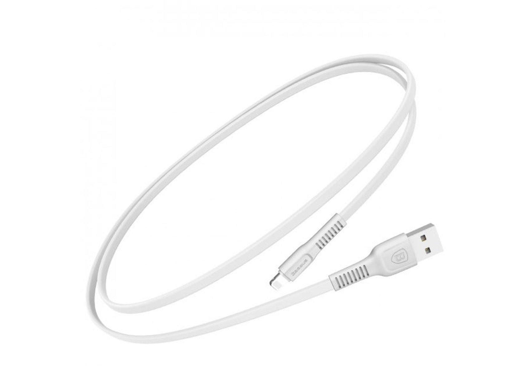 USB Kabel işıqlı 1m Baseus Tough Series Calzy-B02, ağ