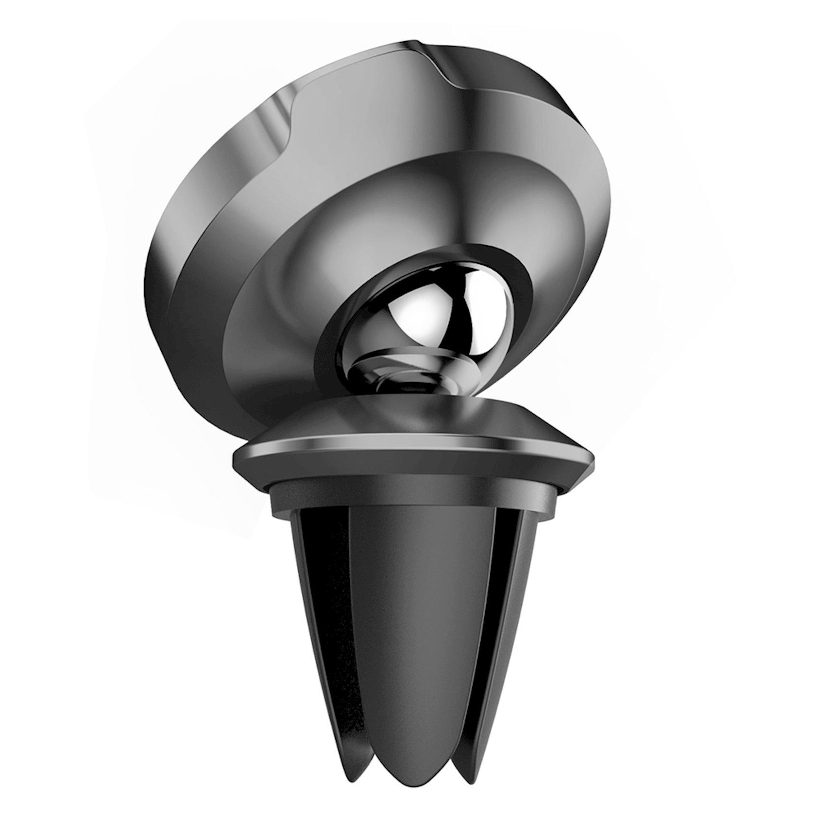 Avtomobil üçün maqnitli telefon tutucusu Baseus Small Ears Series Magnetic suction bracket (Air outlet type), qara, SUER-A01