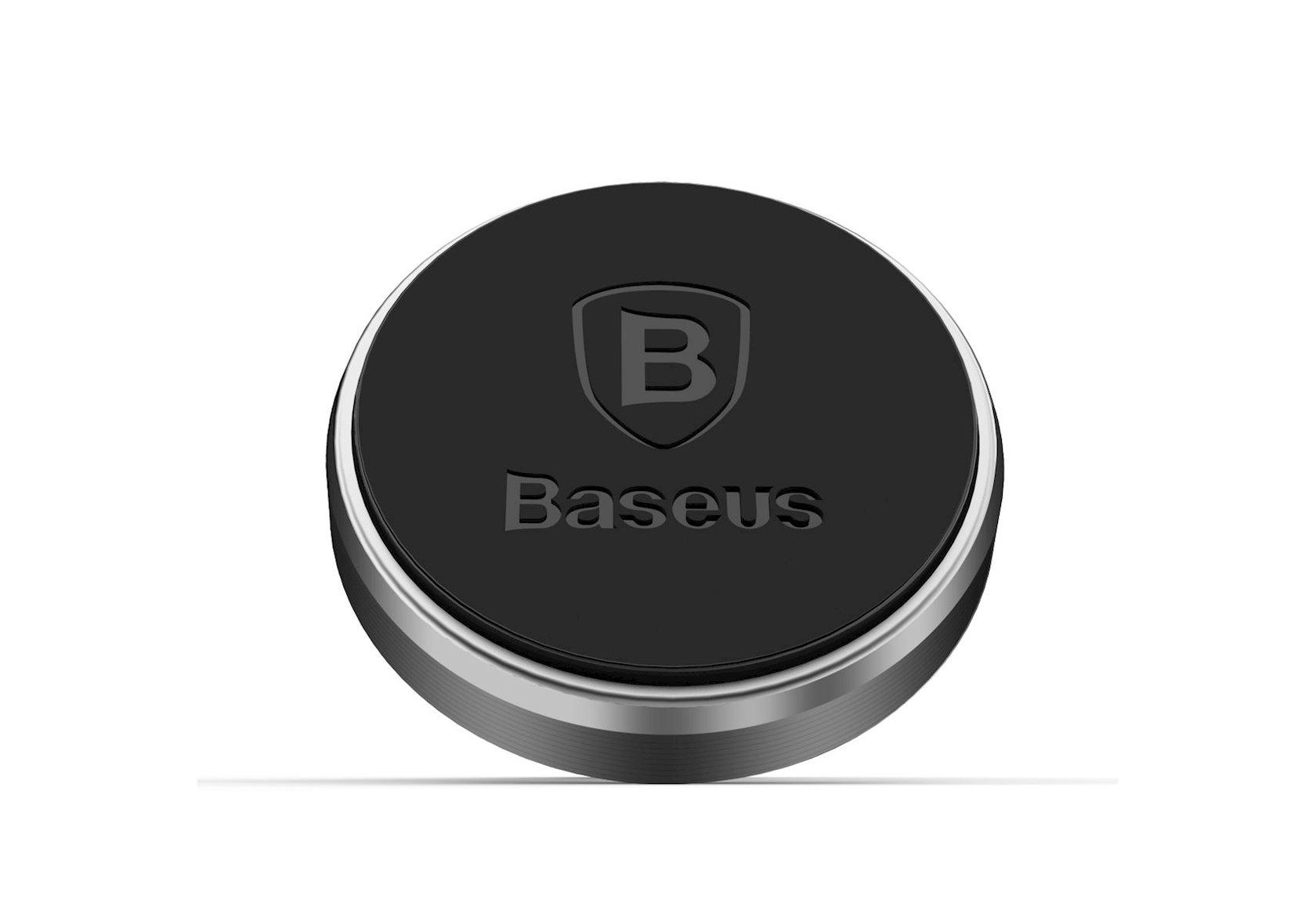 Avtomobil üçün telefon tutucusu Baseus Car Holder Magnetic Air Vent, SGENT-MO01, qara