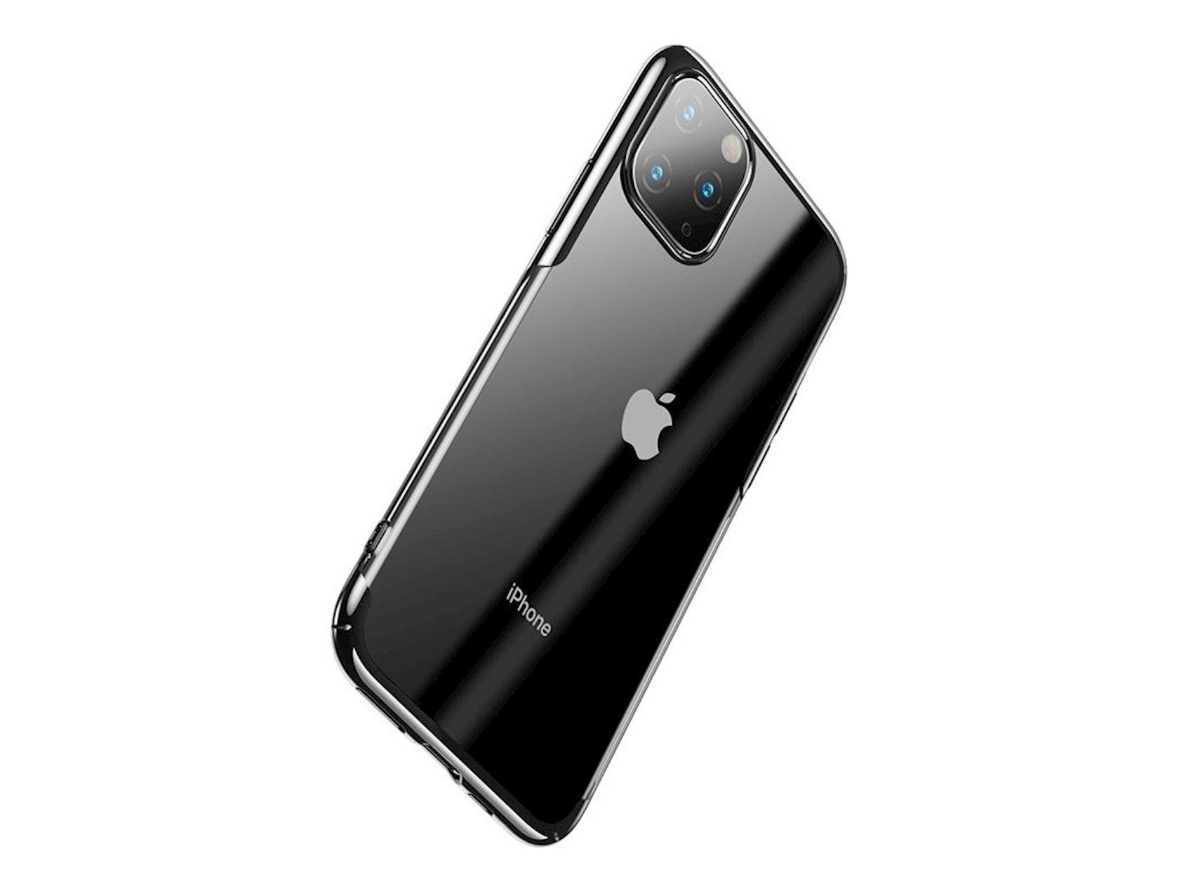 Çexol Baseus Glitter Apple iPhone 11 Pro Max Black üçün