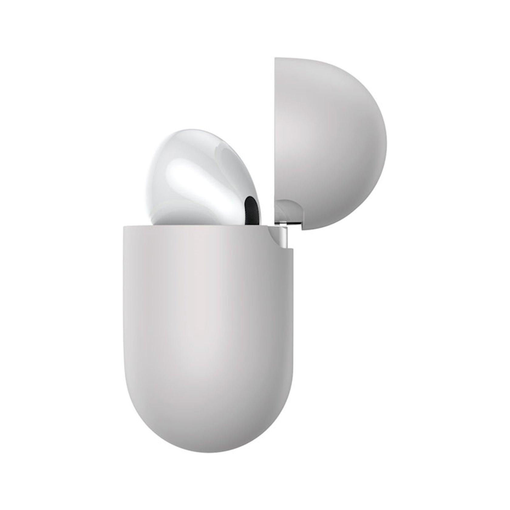 Çexol qulaqlıqlar üçün Baseus Super Thin Grey Apple Airpods Pro