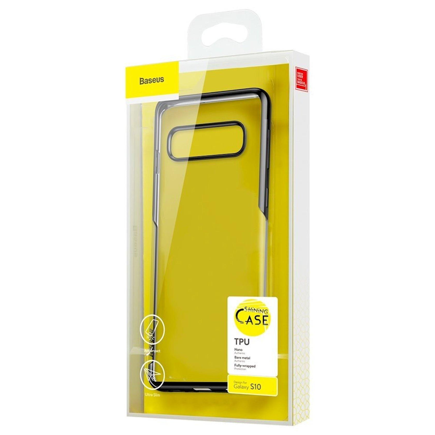 Çexol Baseus Shining Case Samsung Galaxy S10 üçün