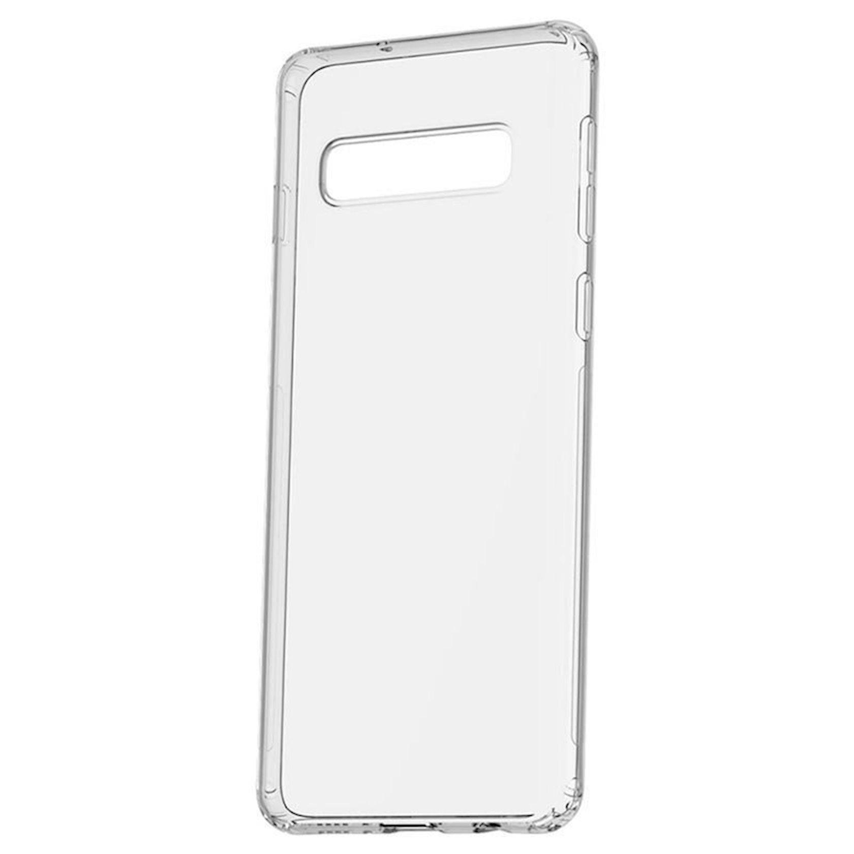 Çexol Baseus ARSAS10P-02 Simple Transparent Samsung Galaxy S10 Plus  üçün