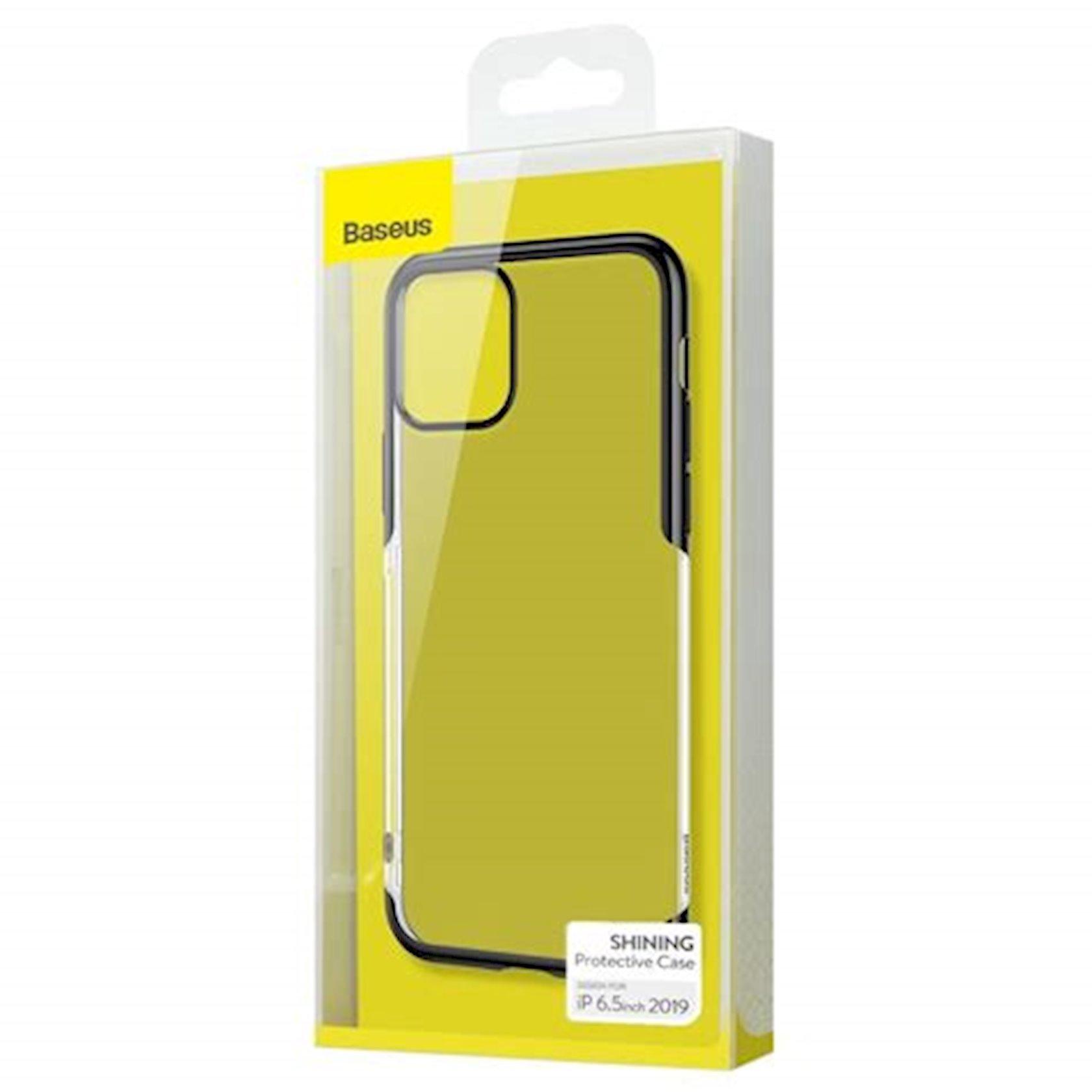 Çexol Baseus ARAPIPH65S-MD01 Shining Case  iPhone 11 Pro Max üçün, qara