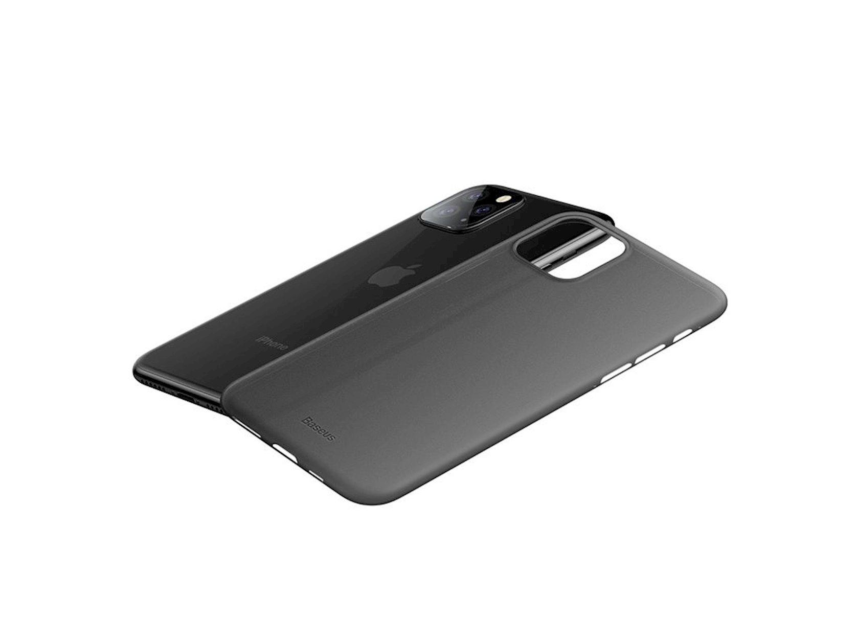 Çexol Baseus Wing Case iPhone 11 Pro 5.8inch üçün, qara