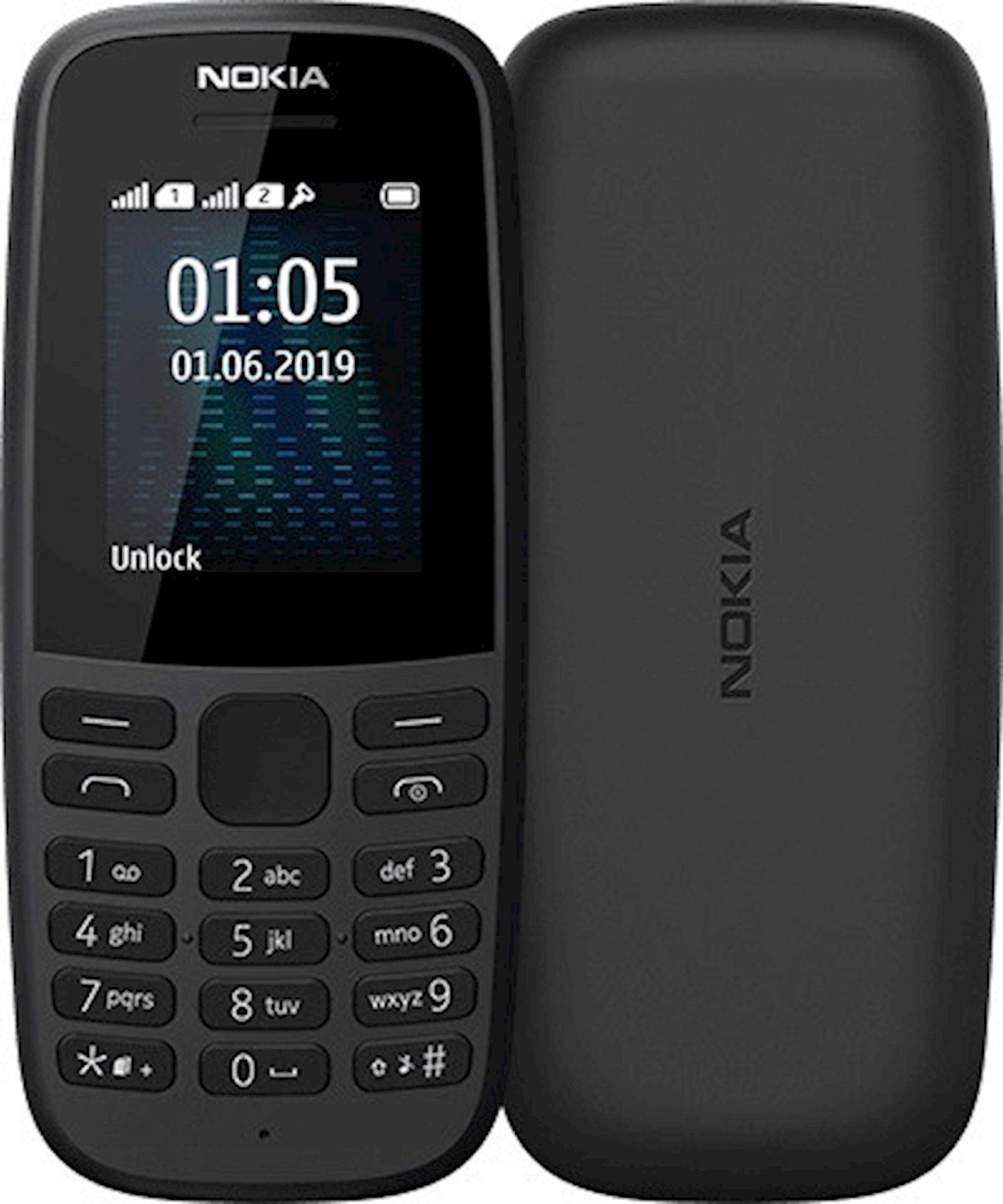 Mobil telefon Nokia 105 Dual Sim 2019 Black