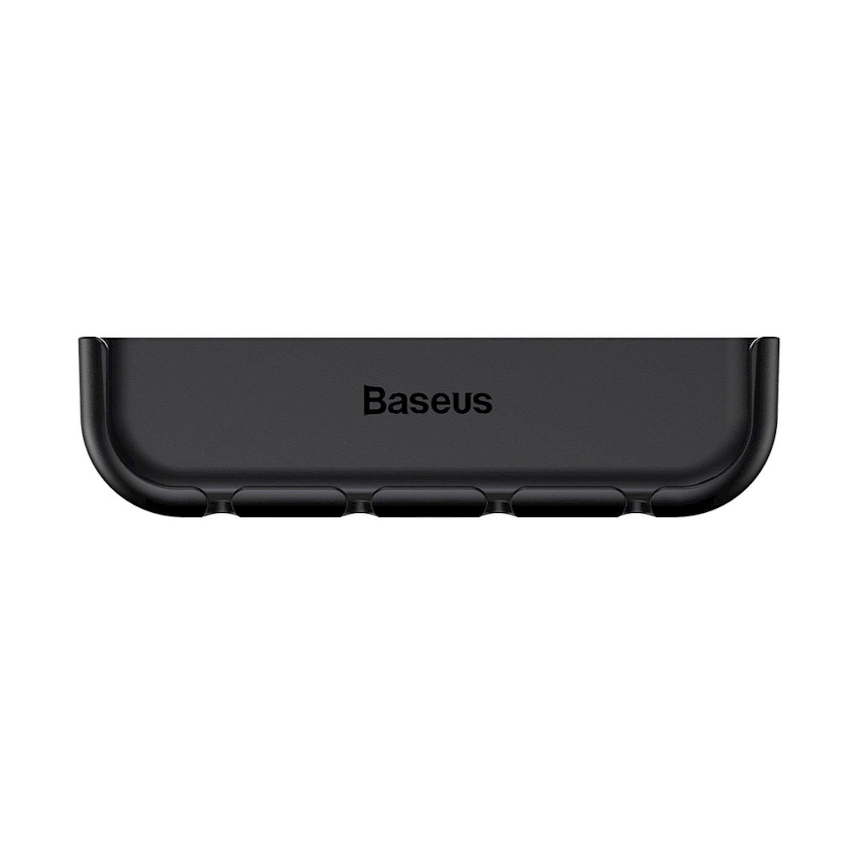 Kabel tutacağı Baseus cable fixing magic tool for pad pasting For iPX/XS 5.8inch, qara