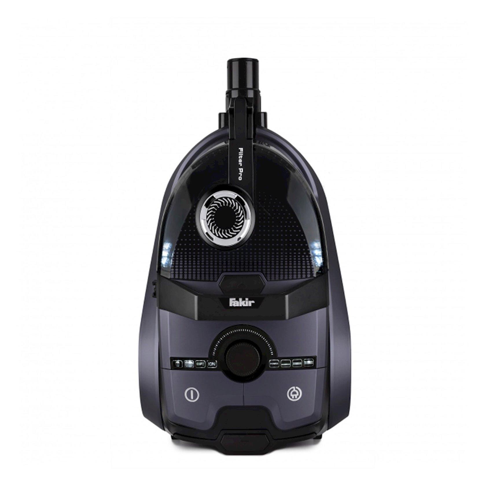 Torbasız tozsoran Fakir Filter Pro Purple 800 W