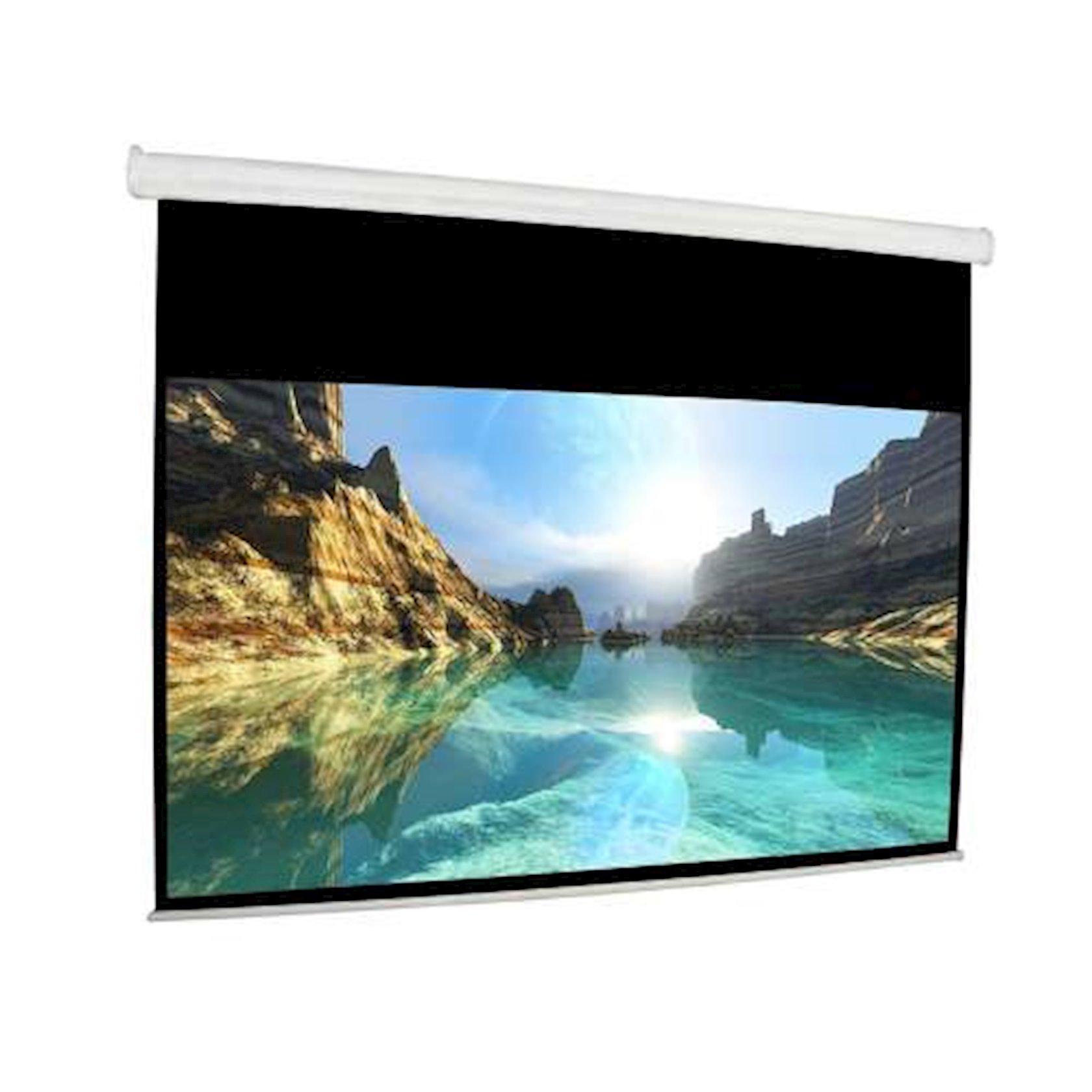 """Proyektor üçün ekran Cyber Electrical Screen (79""""x79"""") 200x200 sm"""
