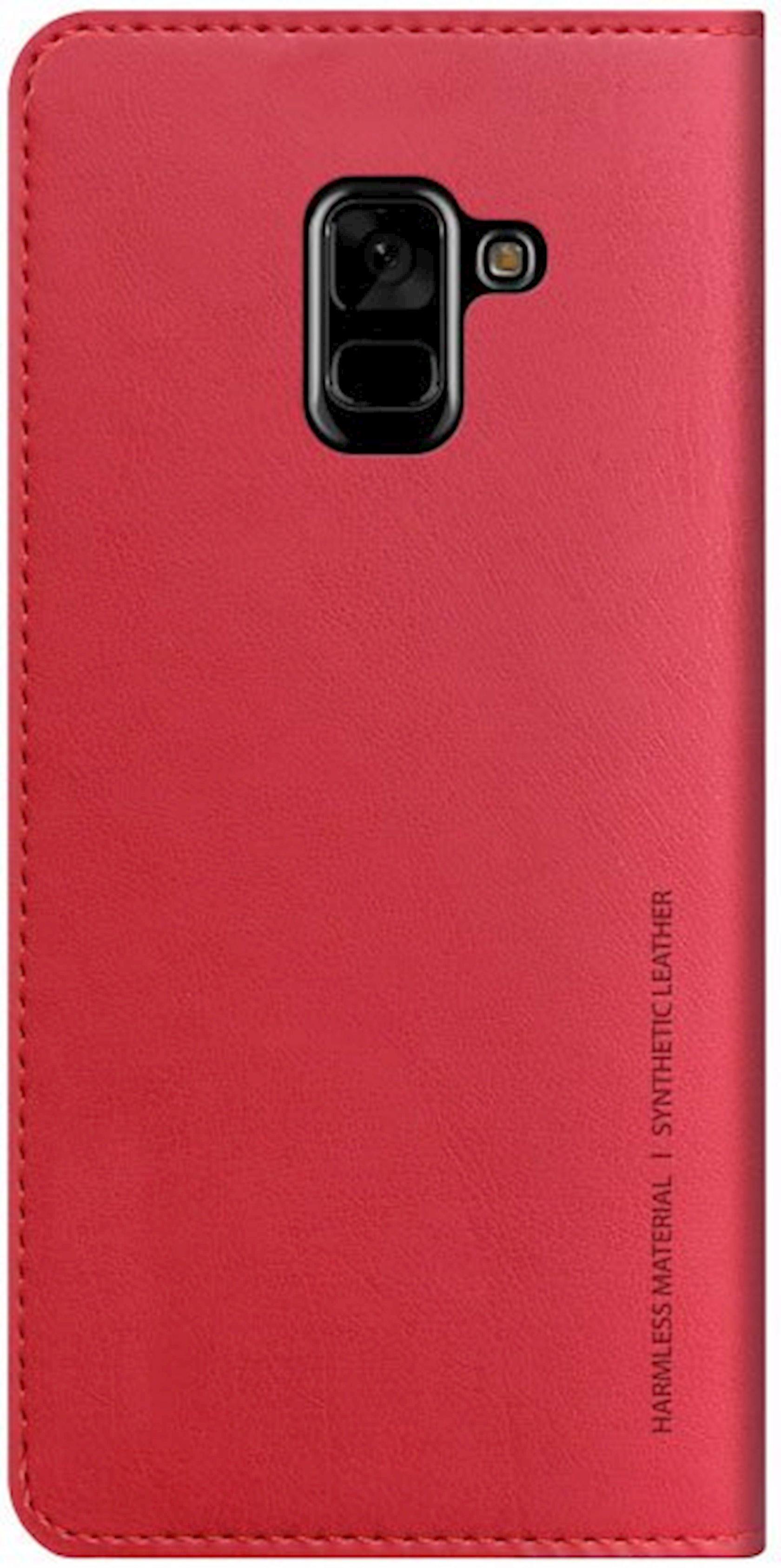 Çexol Araree Samsung Galaxy A8 2018 üçün Red