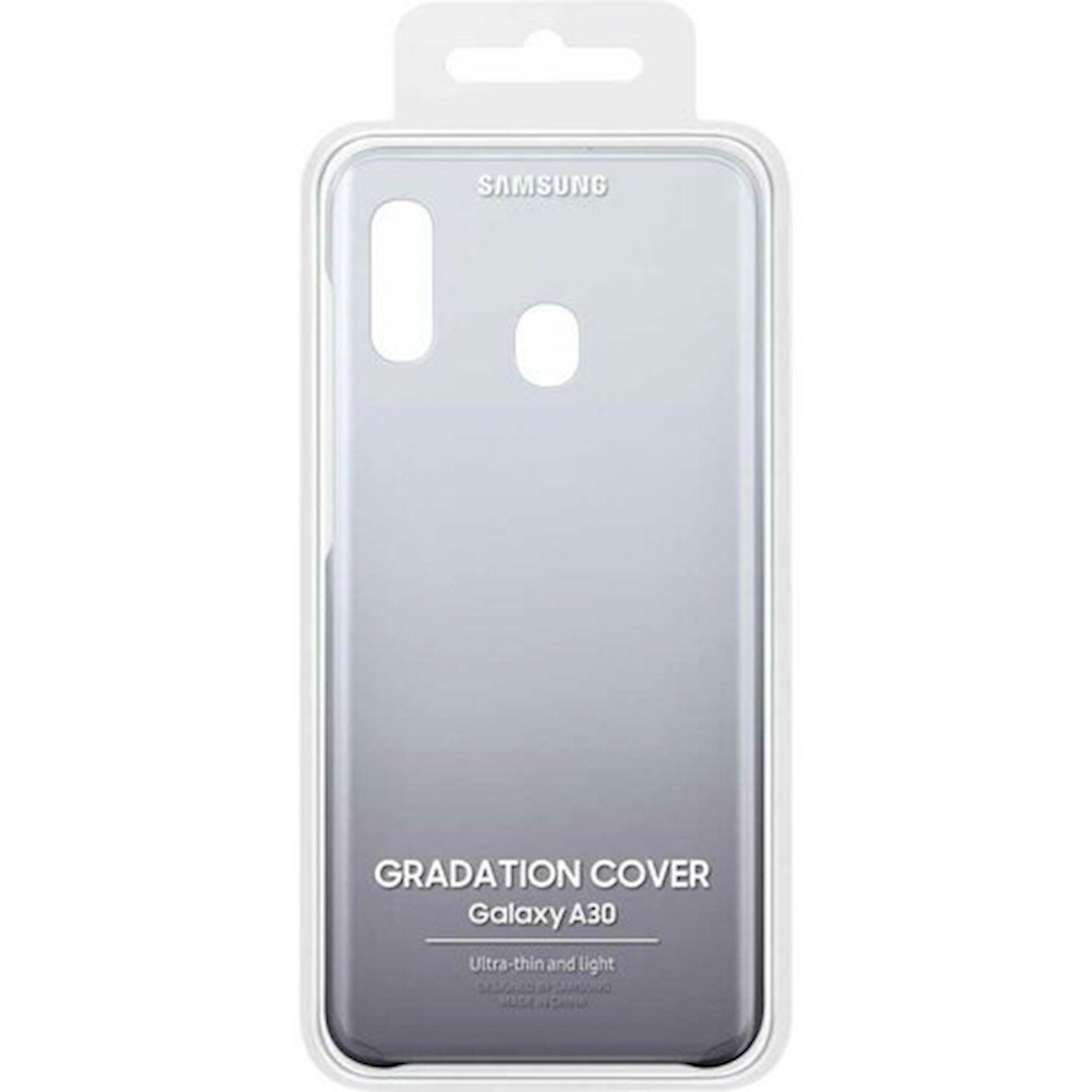 Çexol Samsung Gradation Cover Samsung Galaxy A30 üçün Black