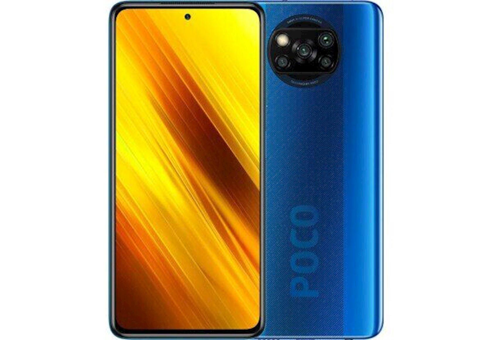 Smartfon Xiaomi Poco X3 6GB/128GB Cobalt Blue