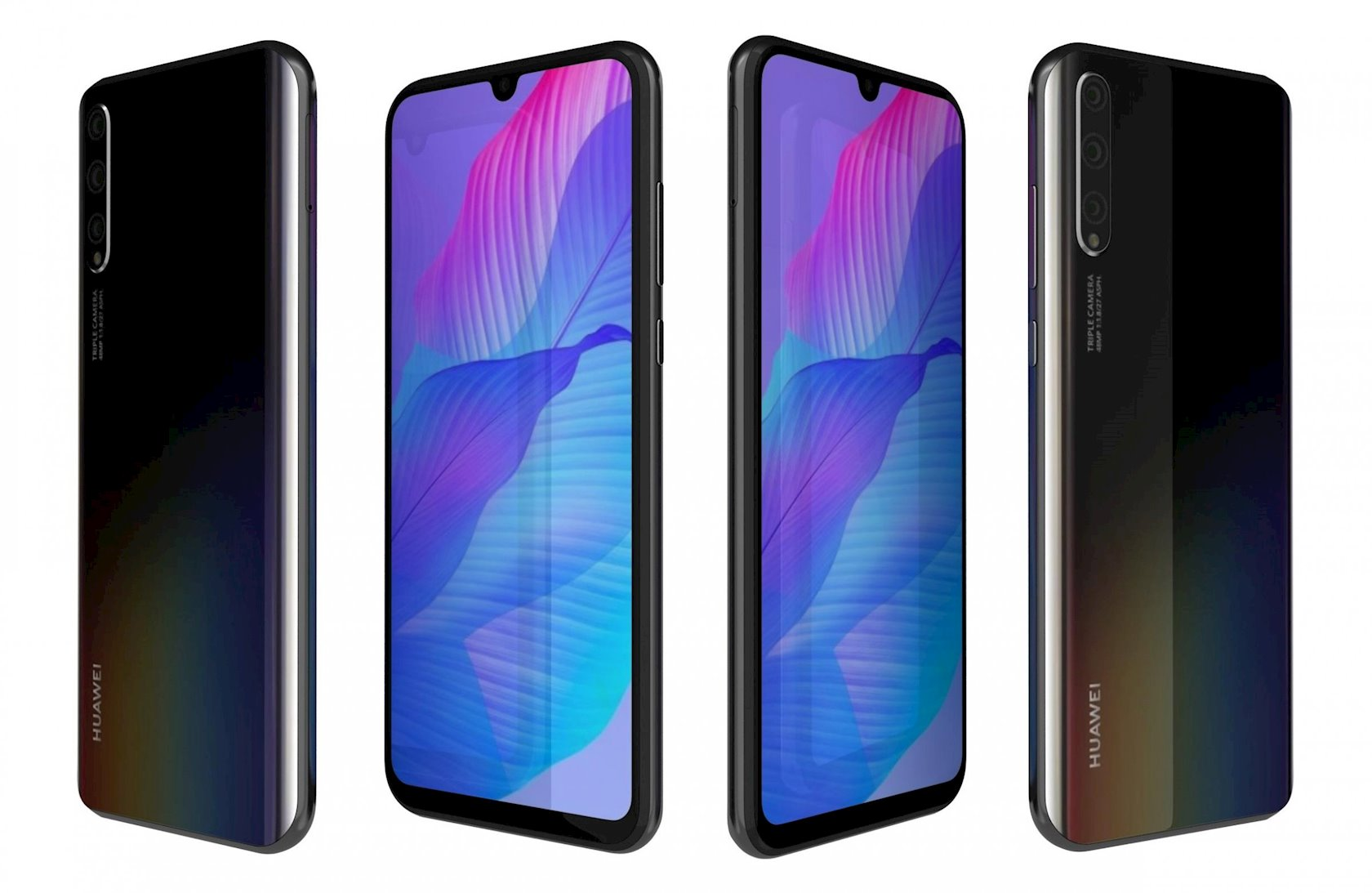 Smartfon Huawei Y8p 4GB/128GB Midnight Black