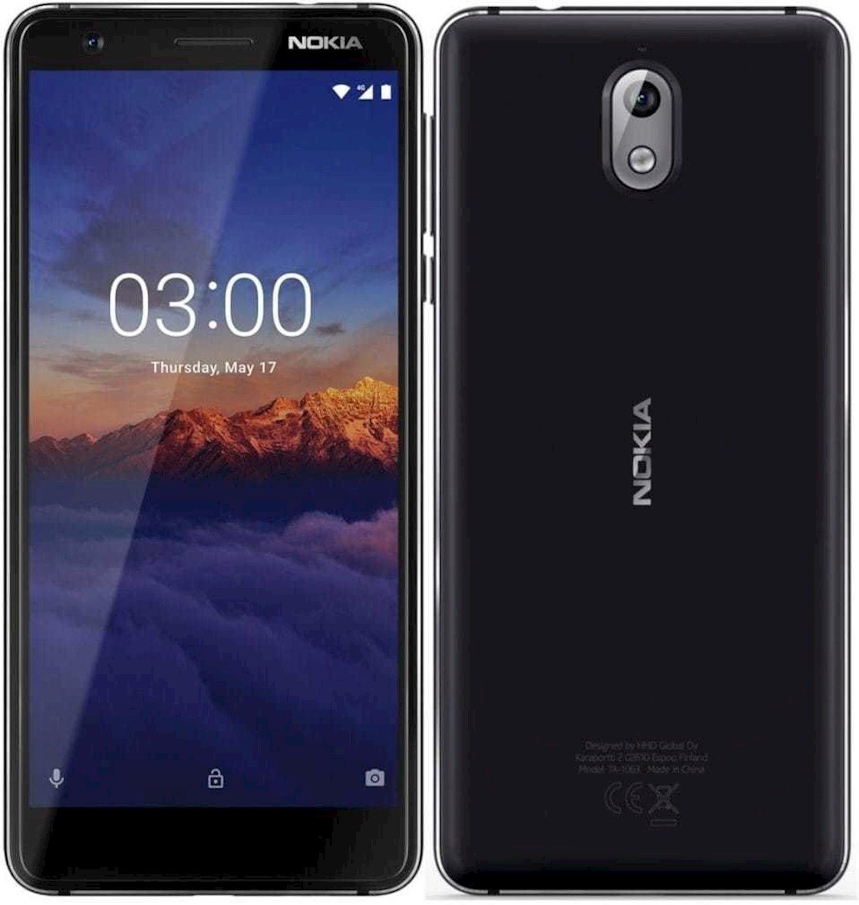 Smartfon Nokia 3.1 2GB/16GB Black