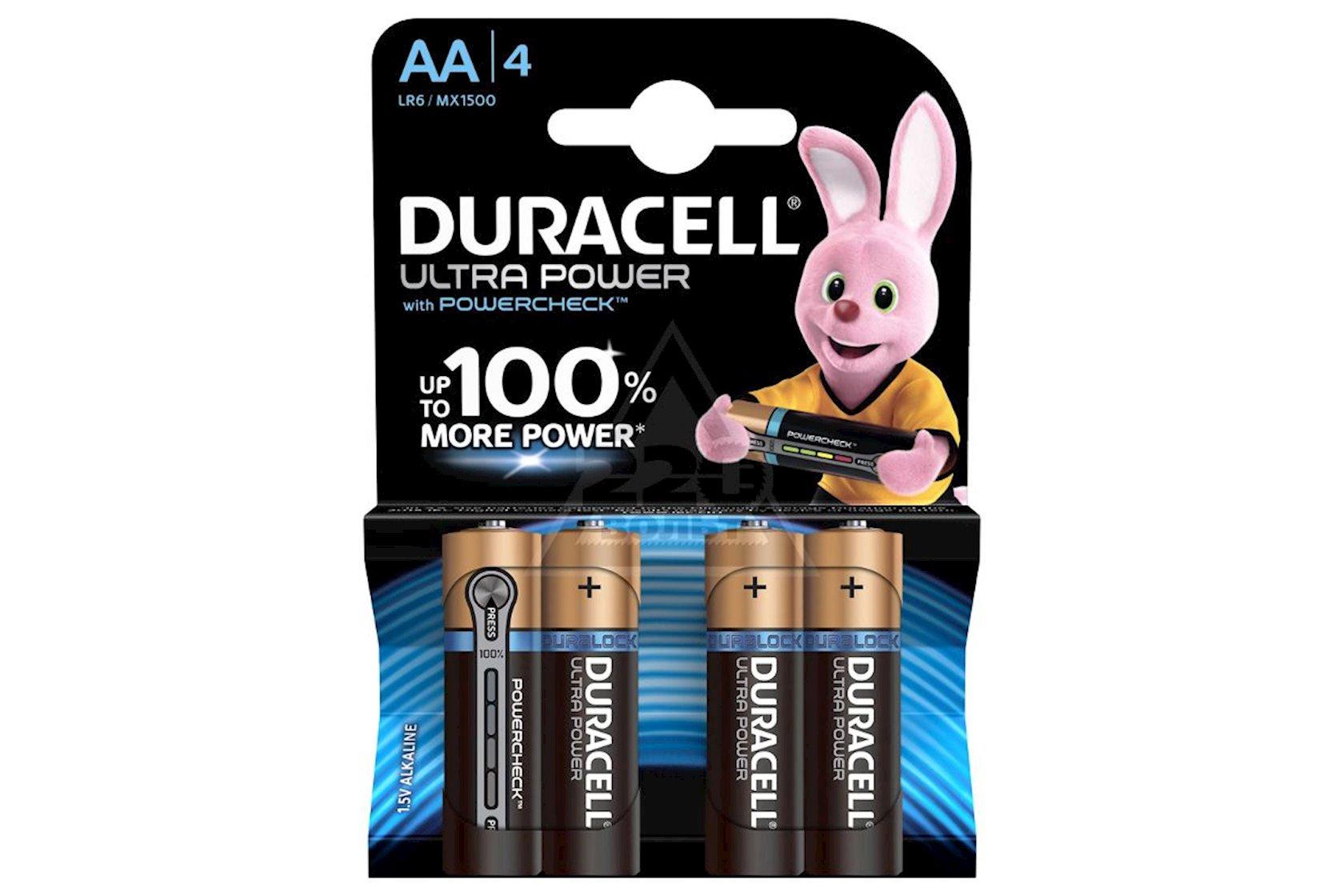 Batareya Duracell Ultra Power AA MN1500 LR6, 1.5V, 4 əd, 92x84 mm, 96 q