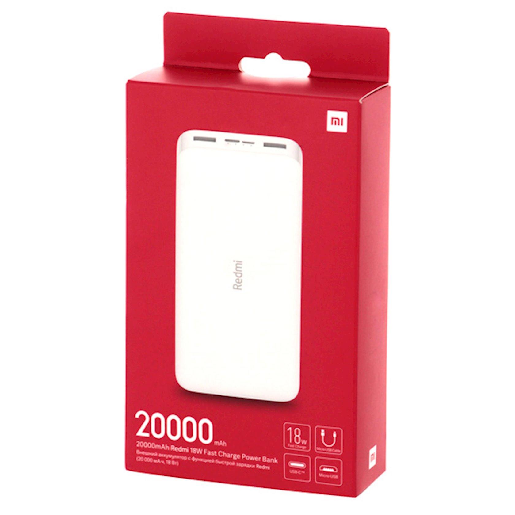Power Bank Xiaomi Redmi Fast Charge Power Bank 20000mAs