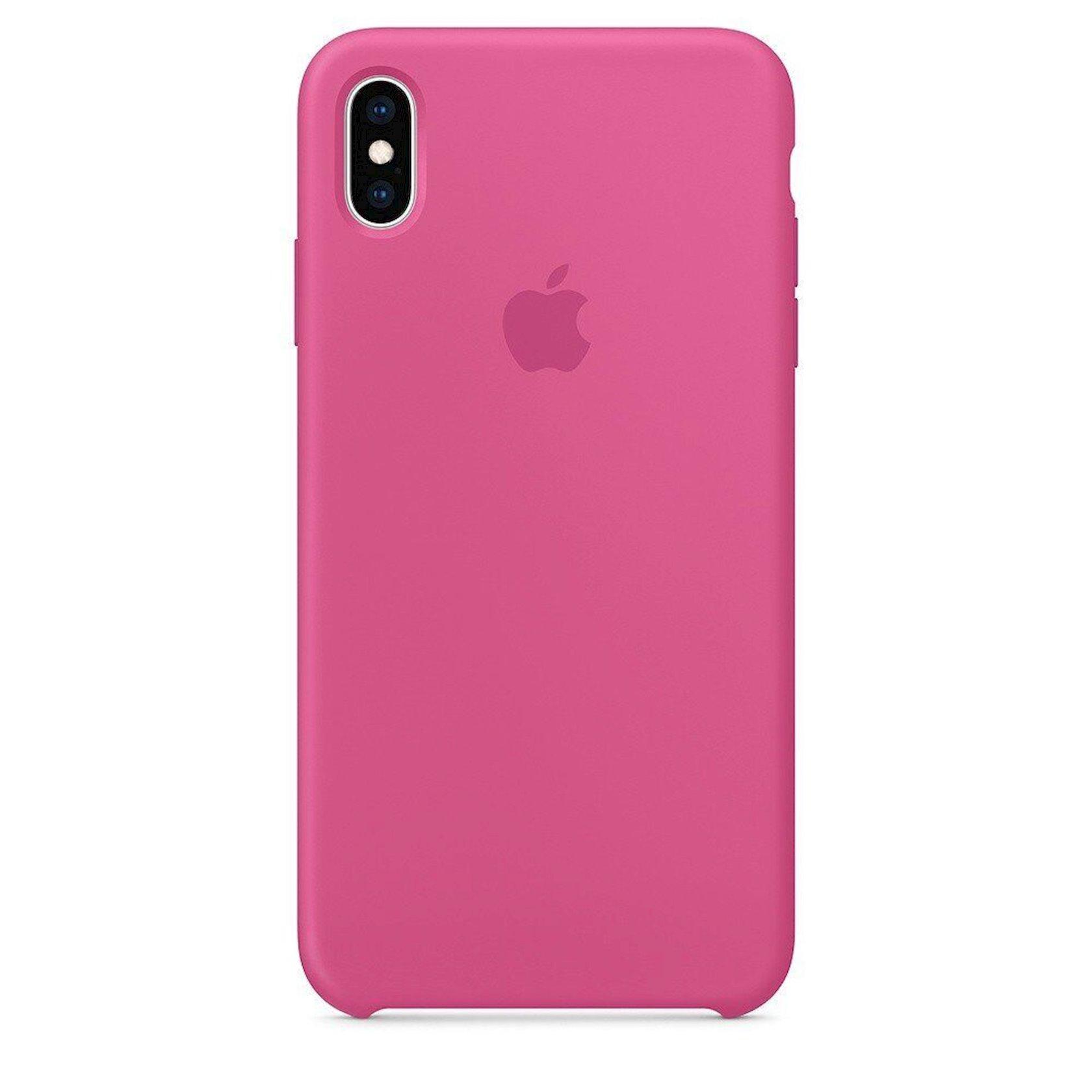 Çexol Silicone Case Apple iPhone XS Max üçün  Dragon Fruit