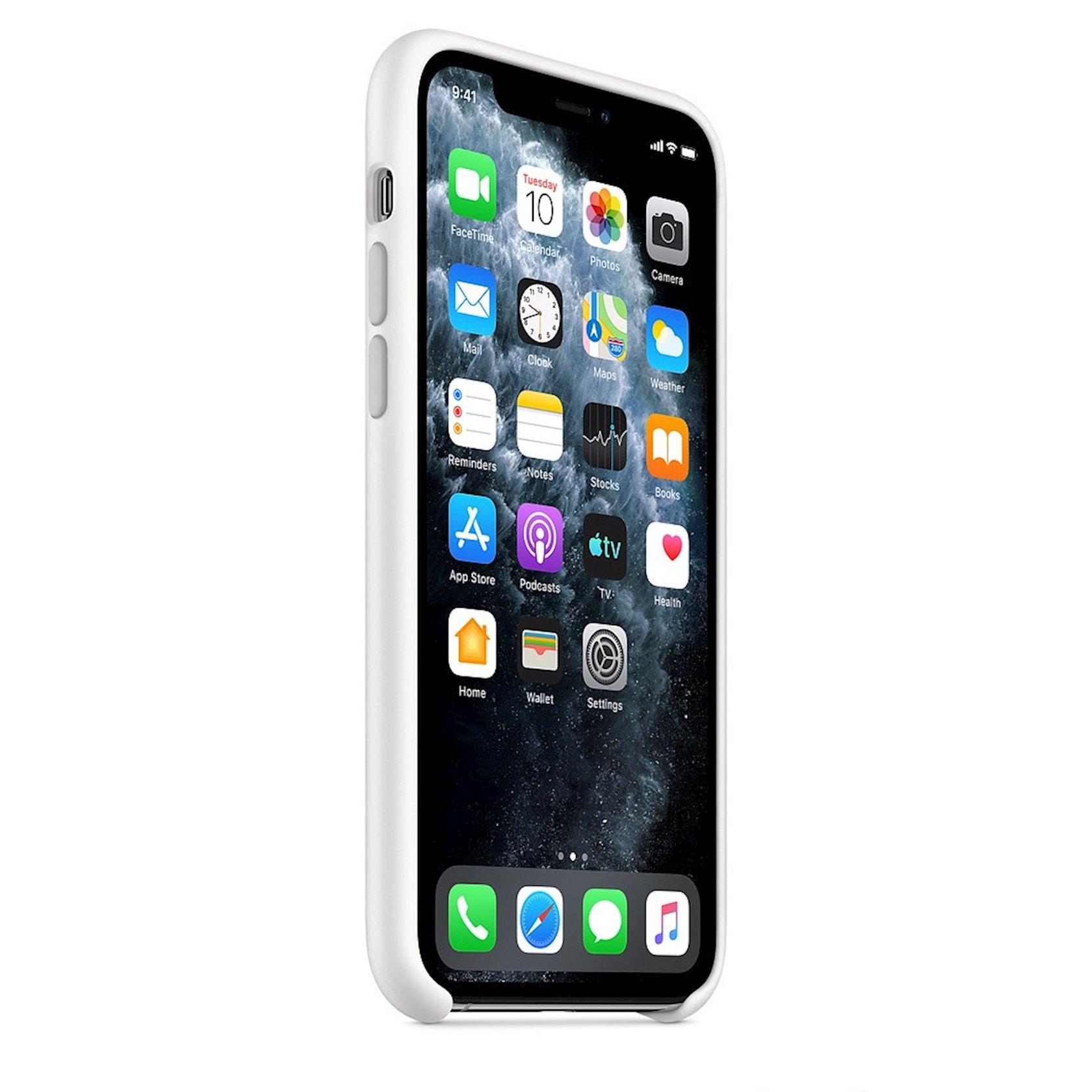 Çexol Apple iPhone 11 Pro Silicone Case - White