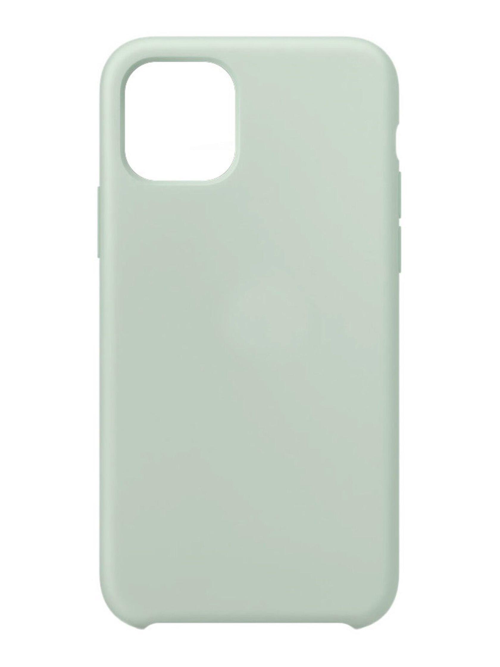 Çexol Silicone Case Apple iPhone 11 Pro Max üçün Silicone Case Beryl