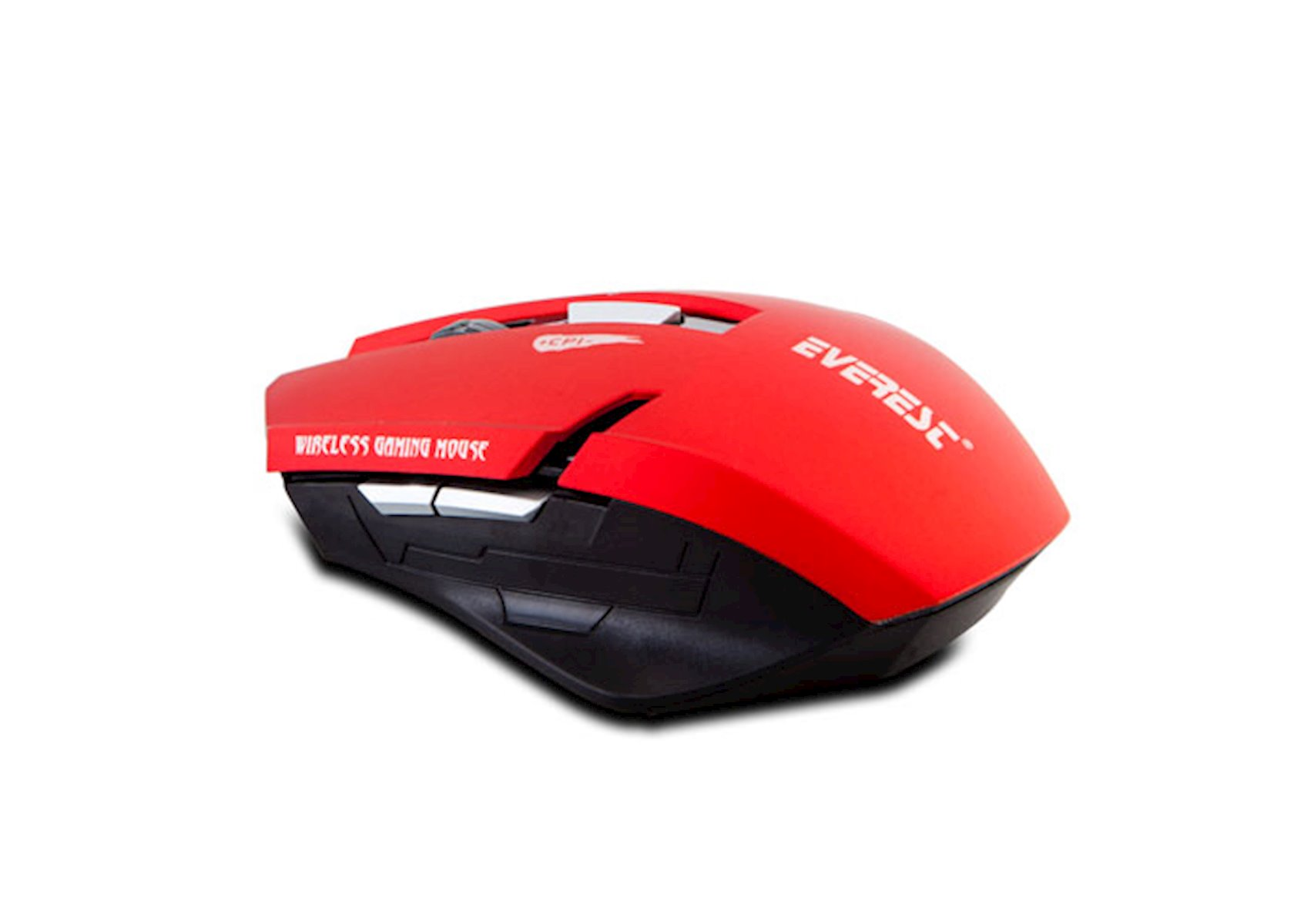 Simsiz optik kompüter siçanı Everest KM-240 USB, qırmızı