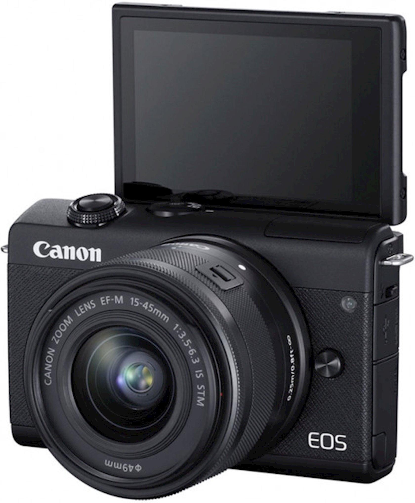 Fotoaparat Canon EOS M200 15-45mm IS STM Kit Black