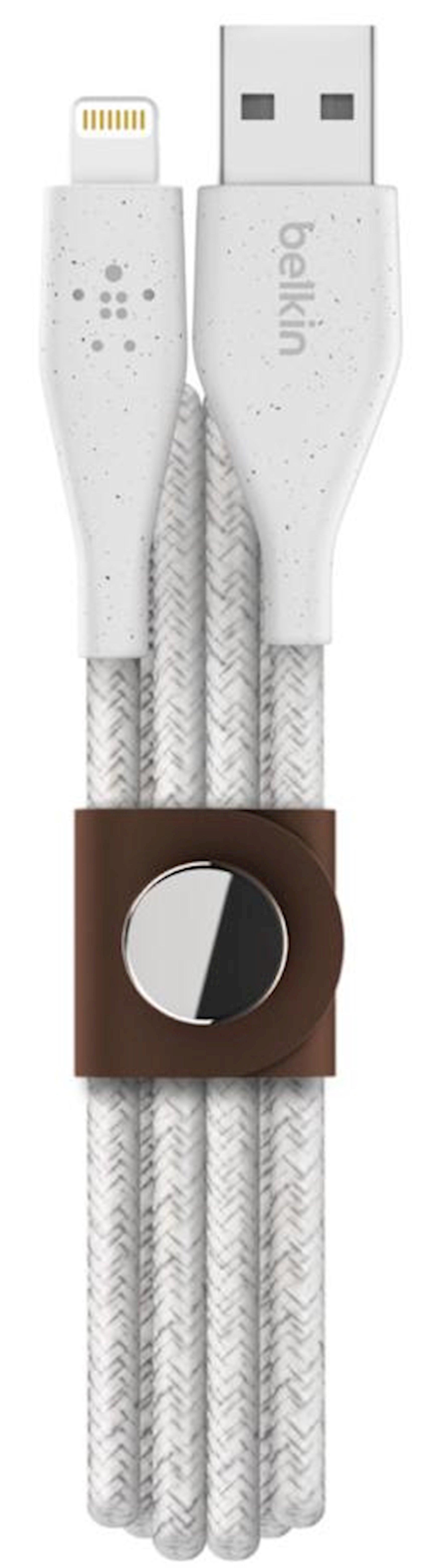 Kabel USB Belkin Lightning DuraTek Plus 1.2m White