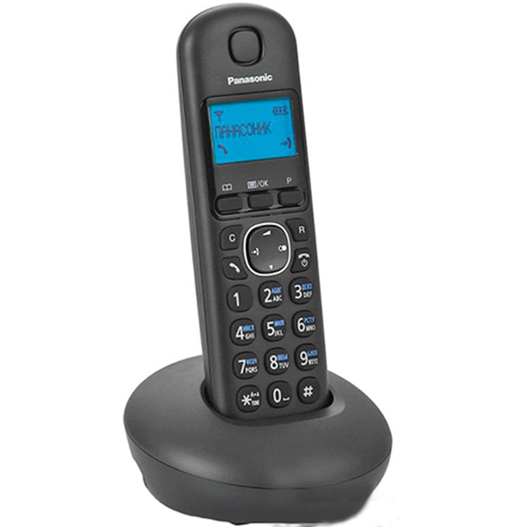 Ev telefonu Panasonic Dect KX-TGB210UAB Black