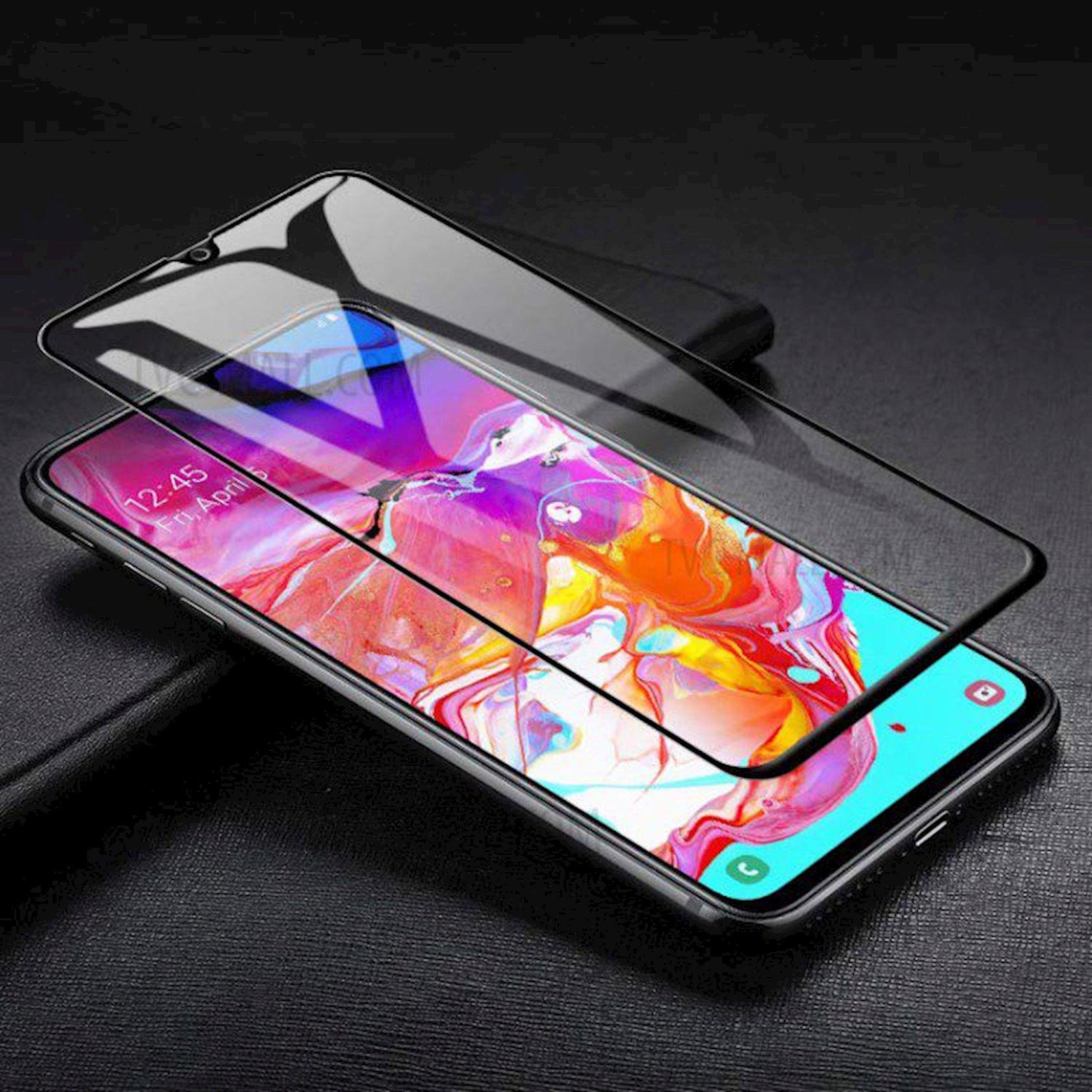 Qoruyucu şüşə Samsung A70