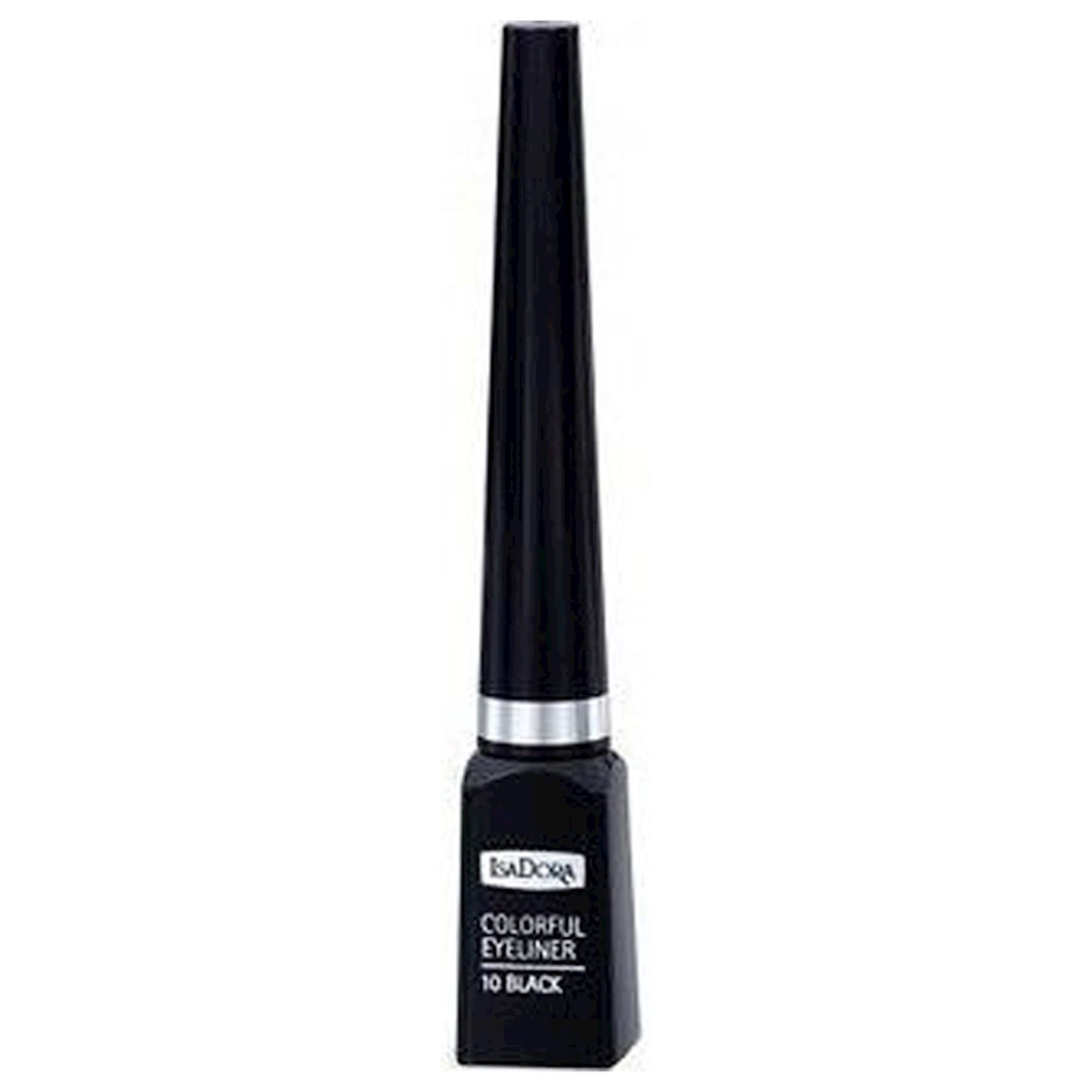 Göz layneri IsaDora Colorful Eyeliner №10 Black 3.7 ml
