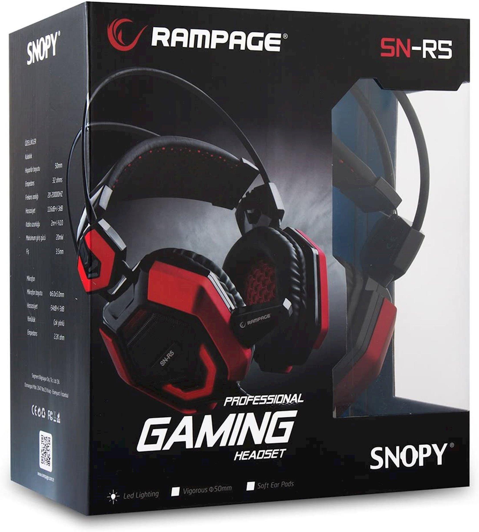 Наушники Rampage SN-R5