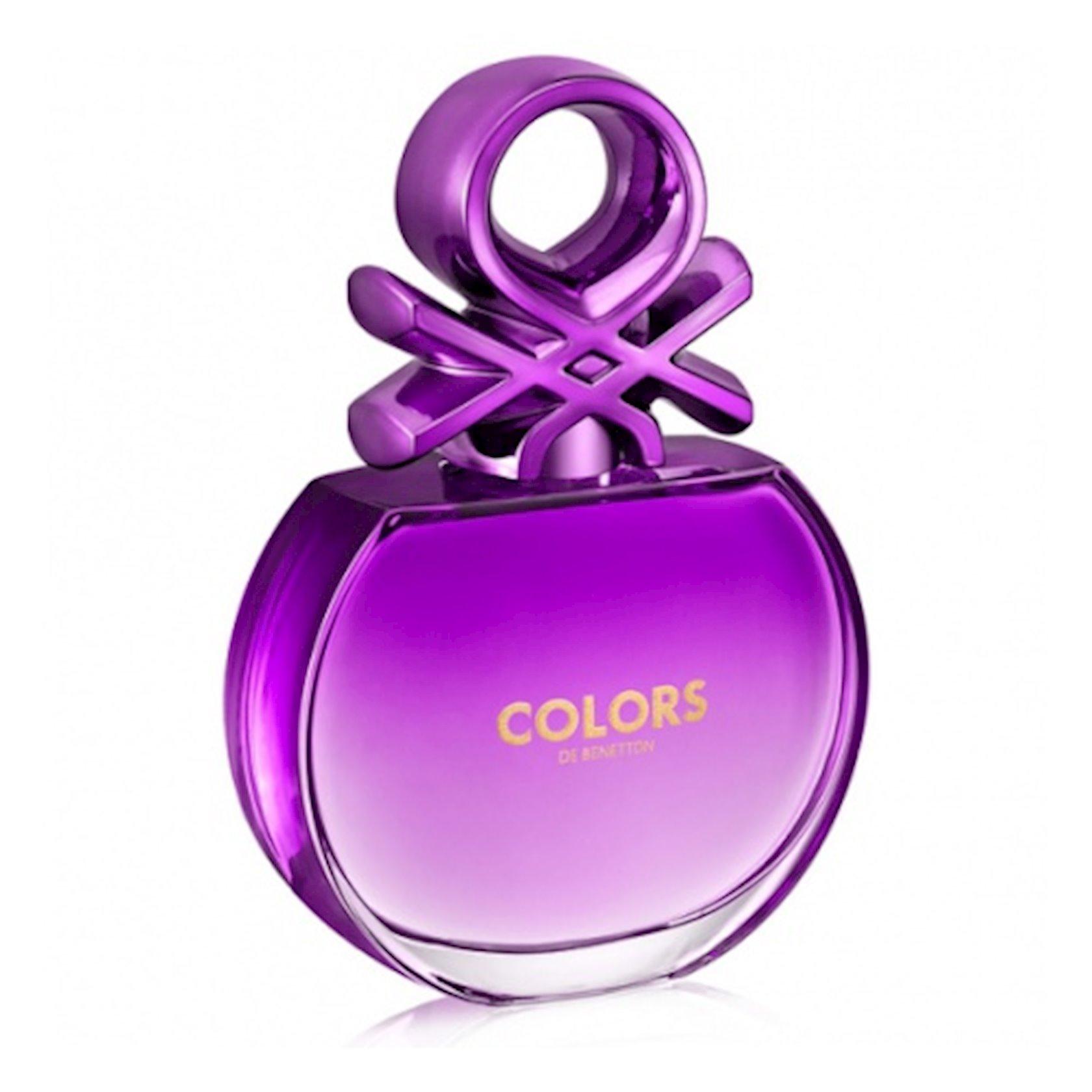 Qadınlar üçün tualet suyu Benetton Colors Purple 80 ml