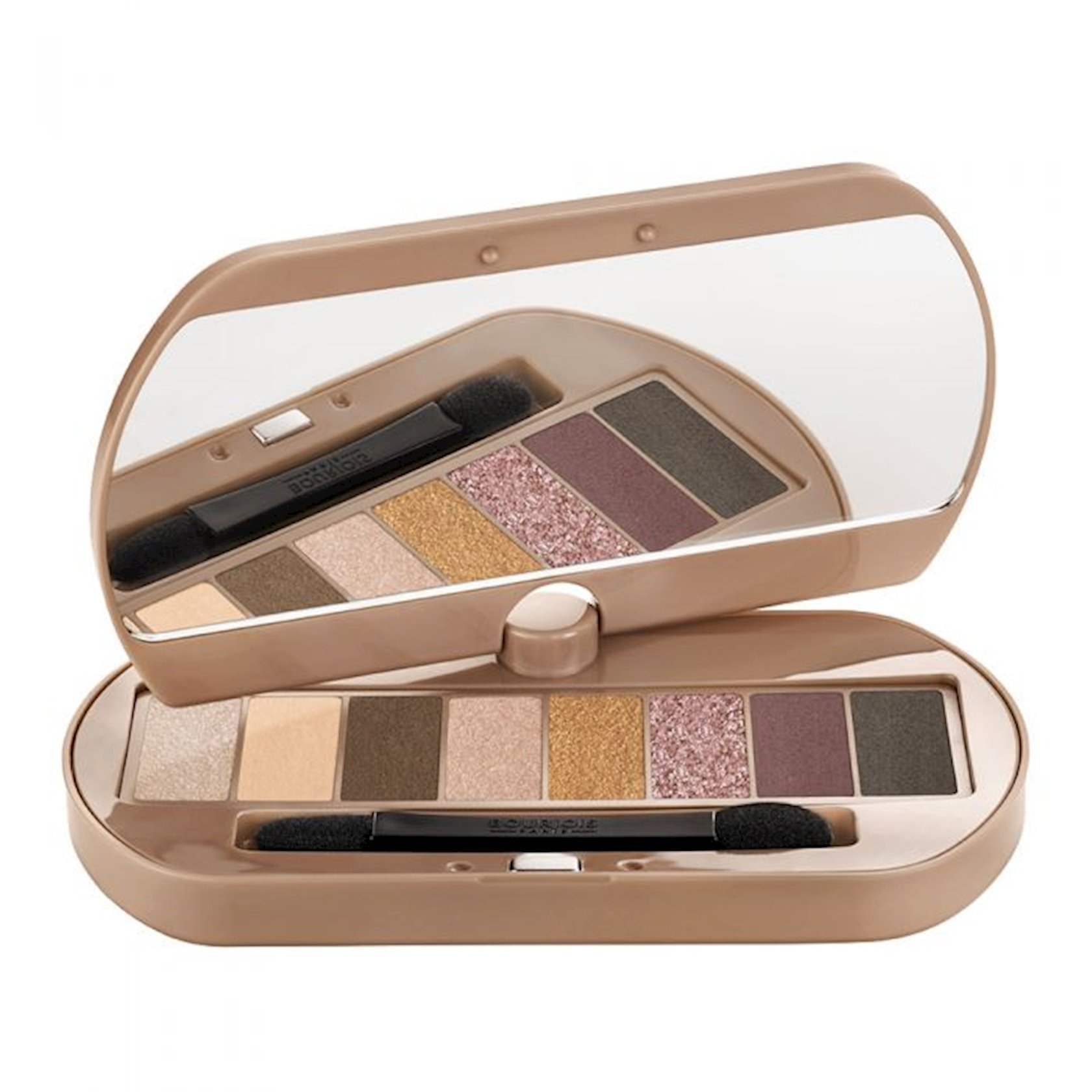 Göz kölgəsi palitrası Bourjois Eye Catching Eyeshadows Nude Palette 4.5 q