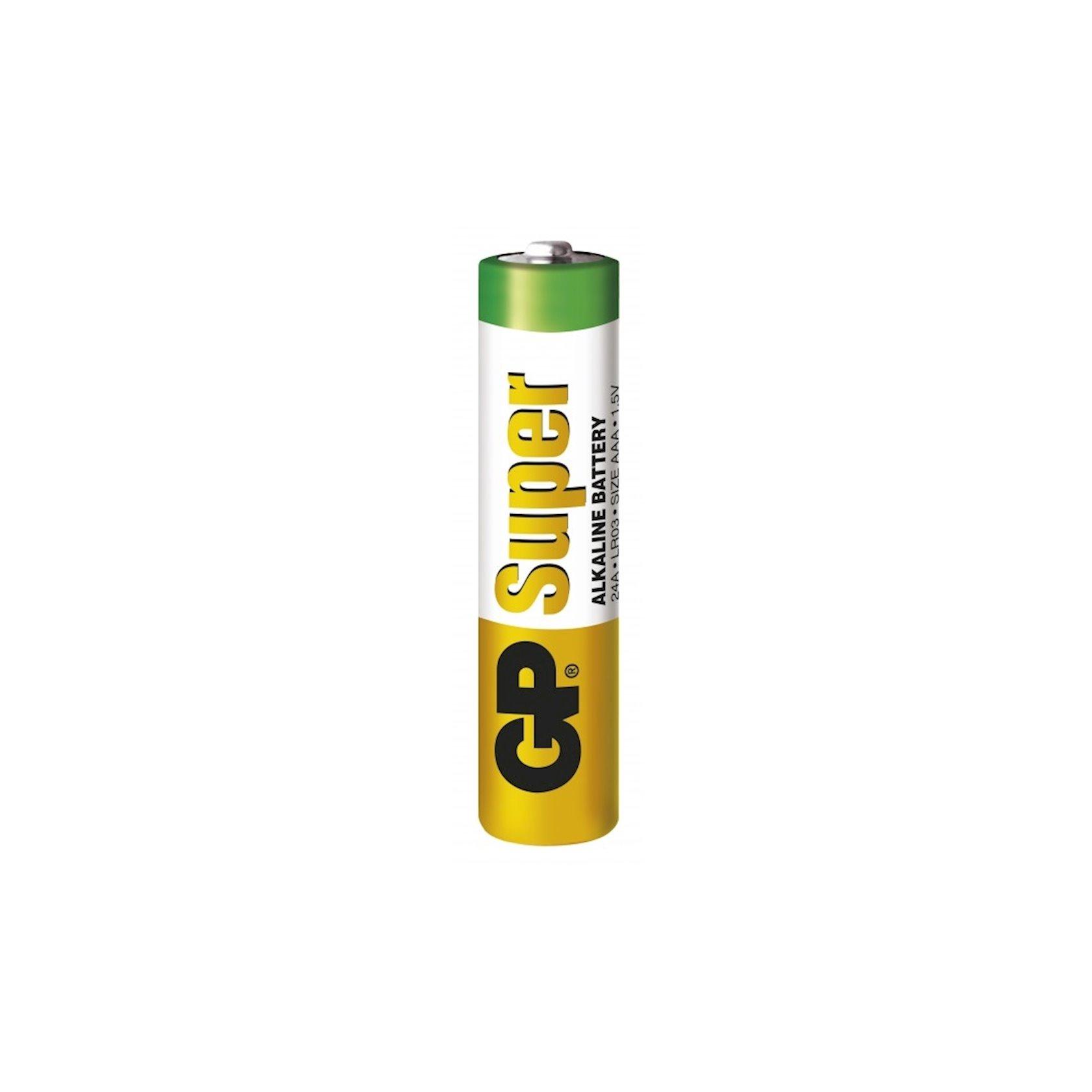 Batareya GP AAA 1.5V (LR03) Super Alkaline 24A-U4 4 əd
