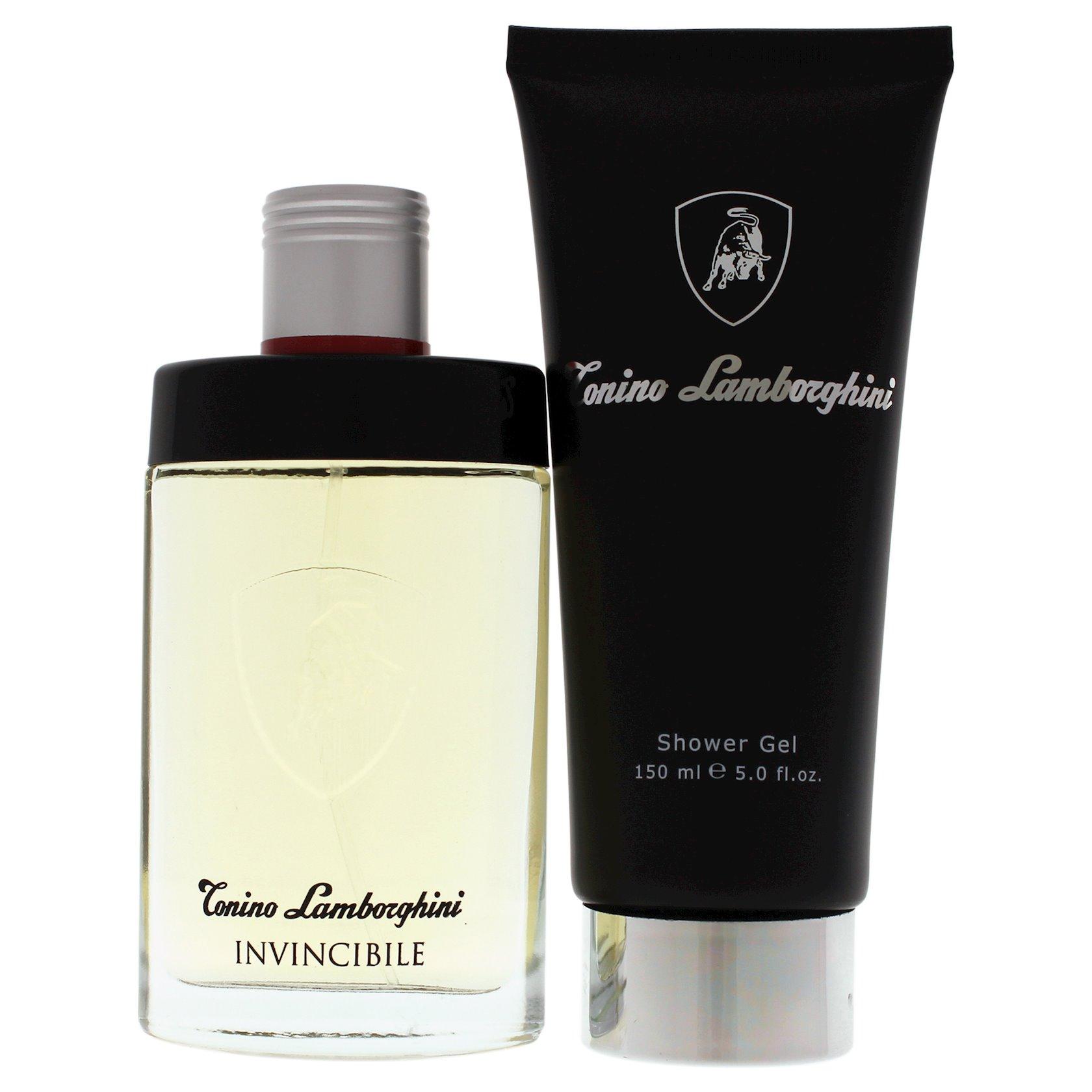 Hədiyyə dəsti Tonino Lamborghini Invicibile EDT 75 ml + duş geli 150 ml