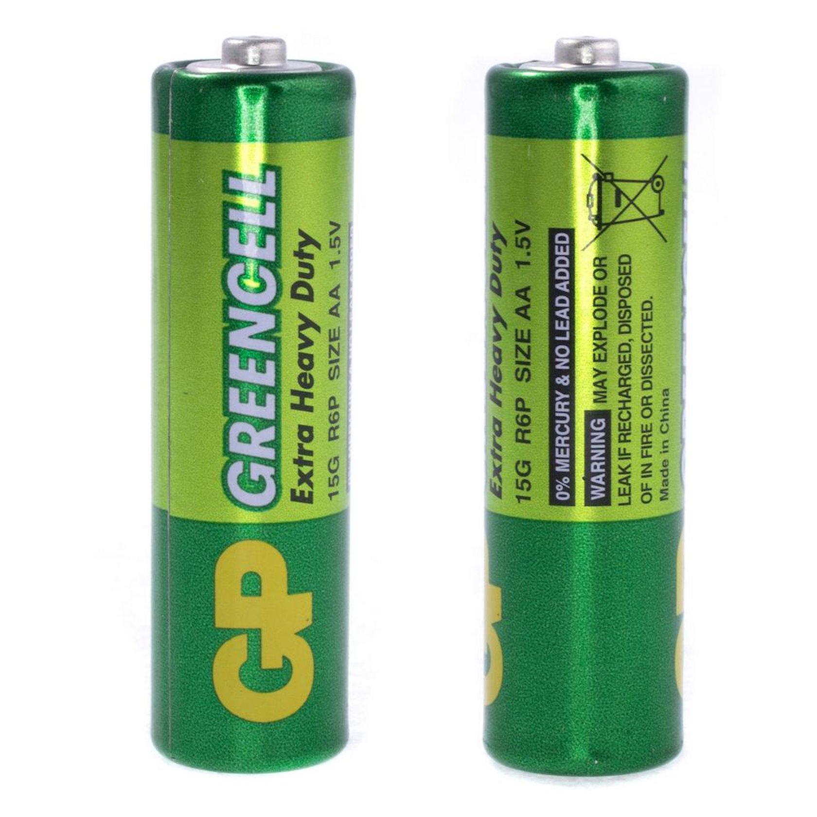 Batareya GP Greencell 15G-U4, R6, АА, 1.5V 4 əd