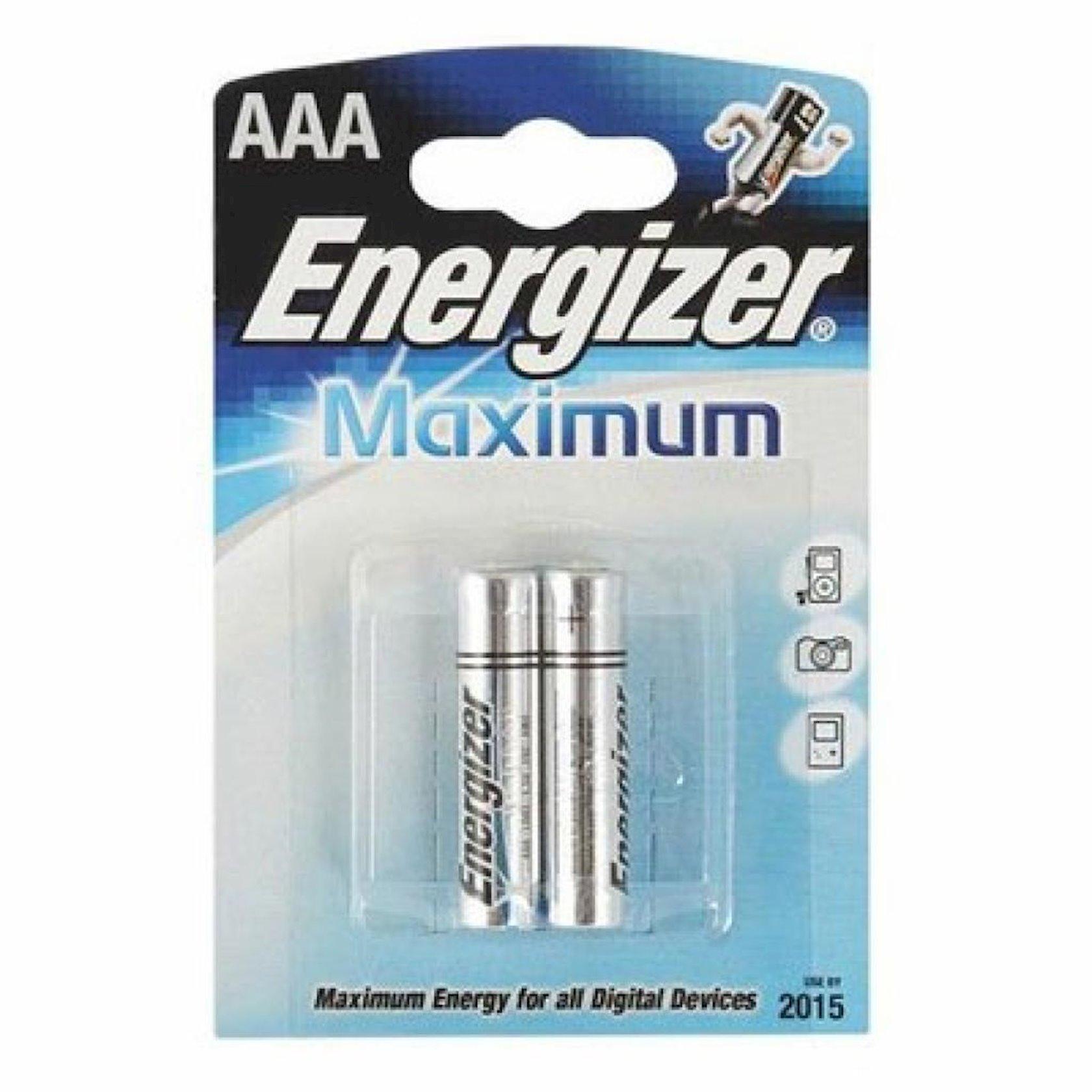 """Batareya Energizer """"Maximum"""", тип LR03  AAA, 1, 5V 2 əd"""