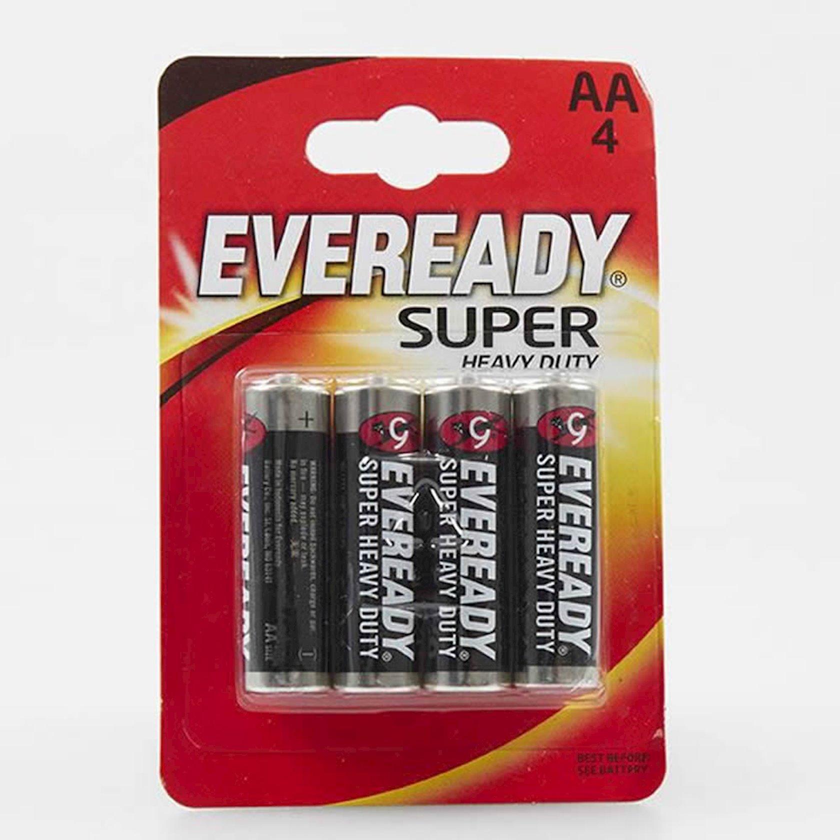 """Batareya Eveready """"Super"""", тип AA, 1, 5V 4 əd"""