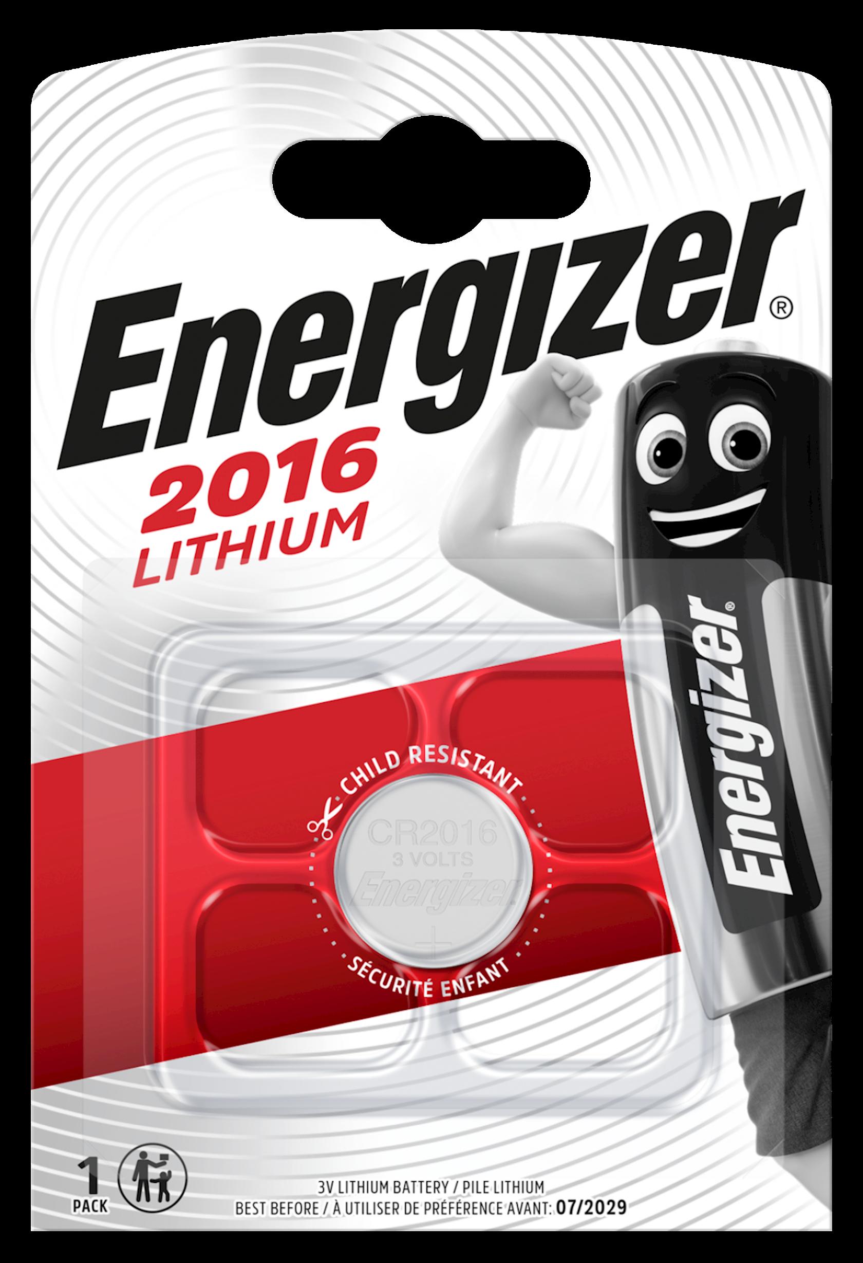 Batareya Energizer Lithium CR2016 3V 1 əd