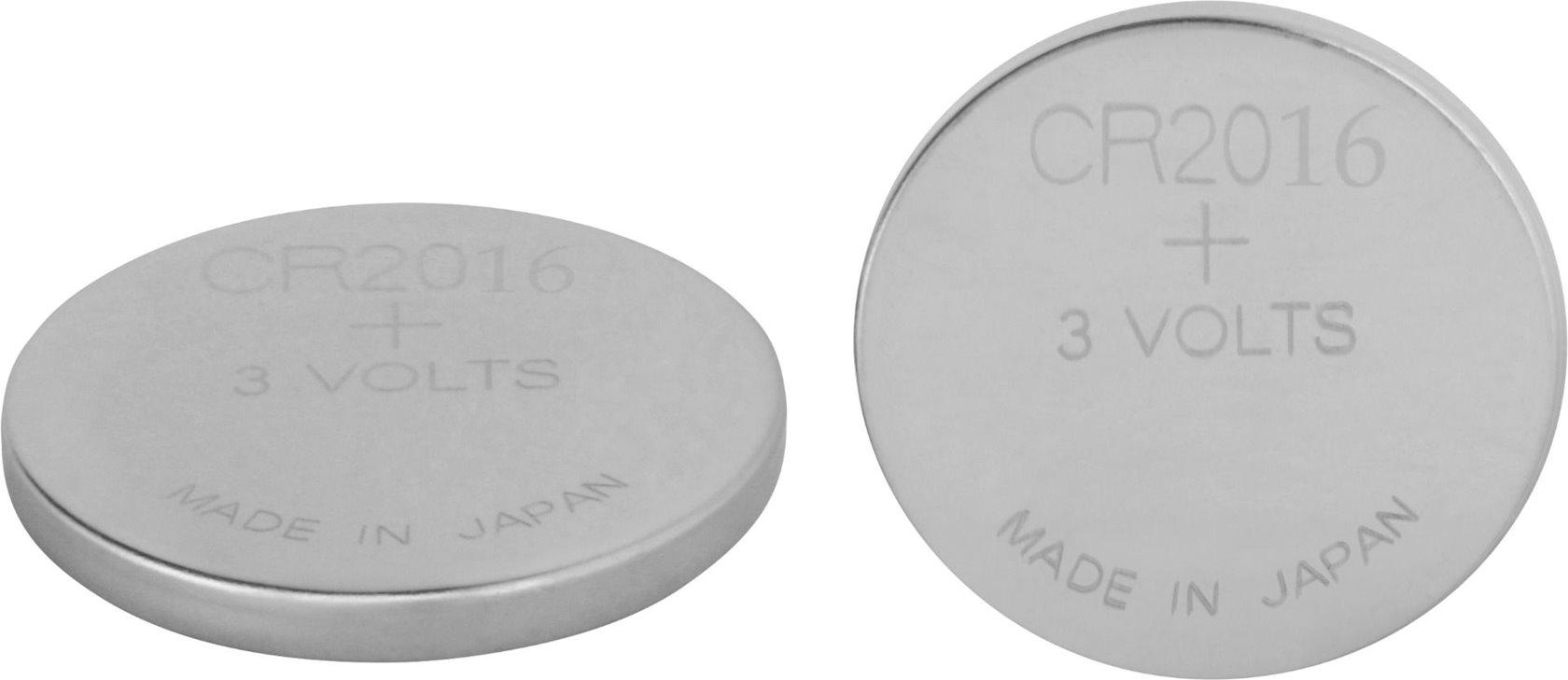 Batareya GP Lithium Battery CR2016-7C2 3V, 2 əd