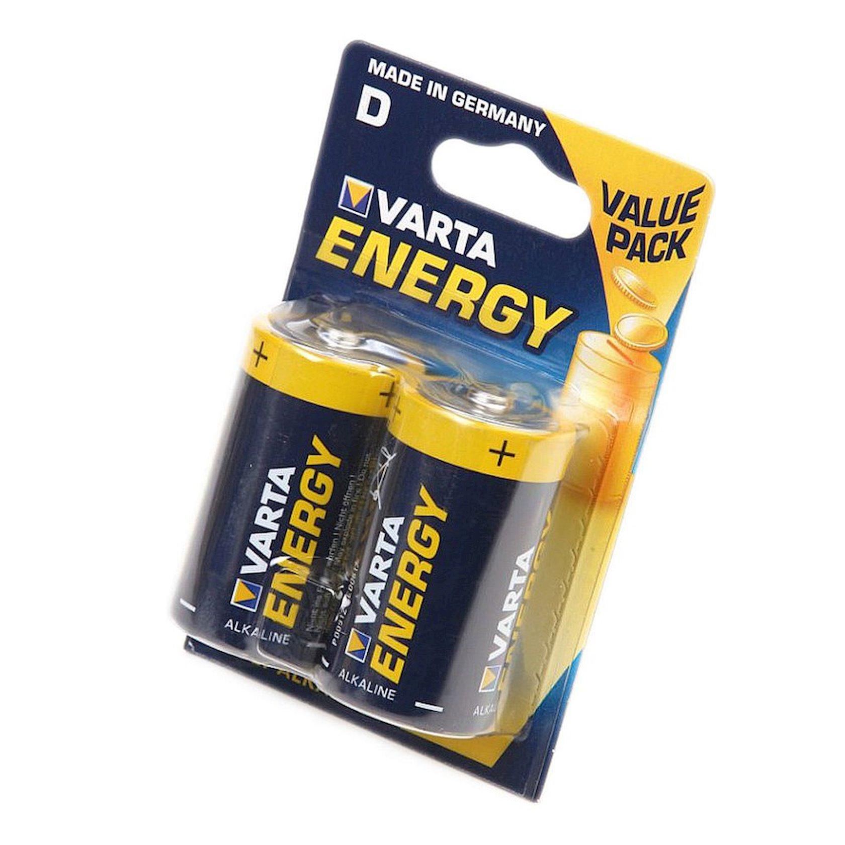 Batareya Varta Energy D LR20, 2 əd