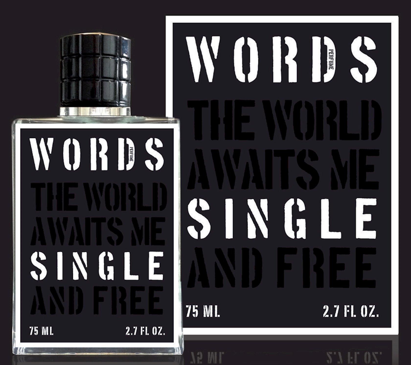 Uniseks ətir suyu Words Single 75ml