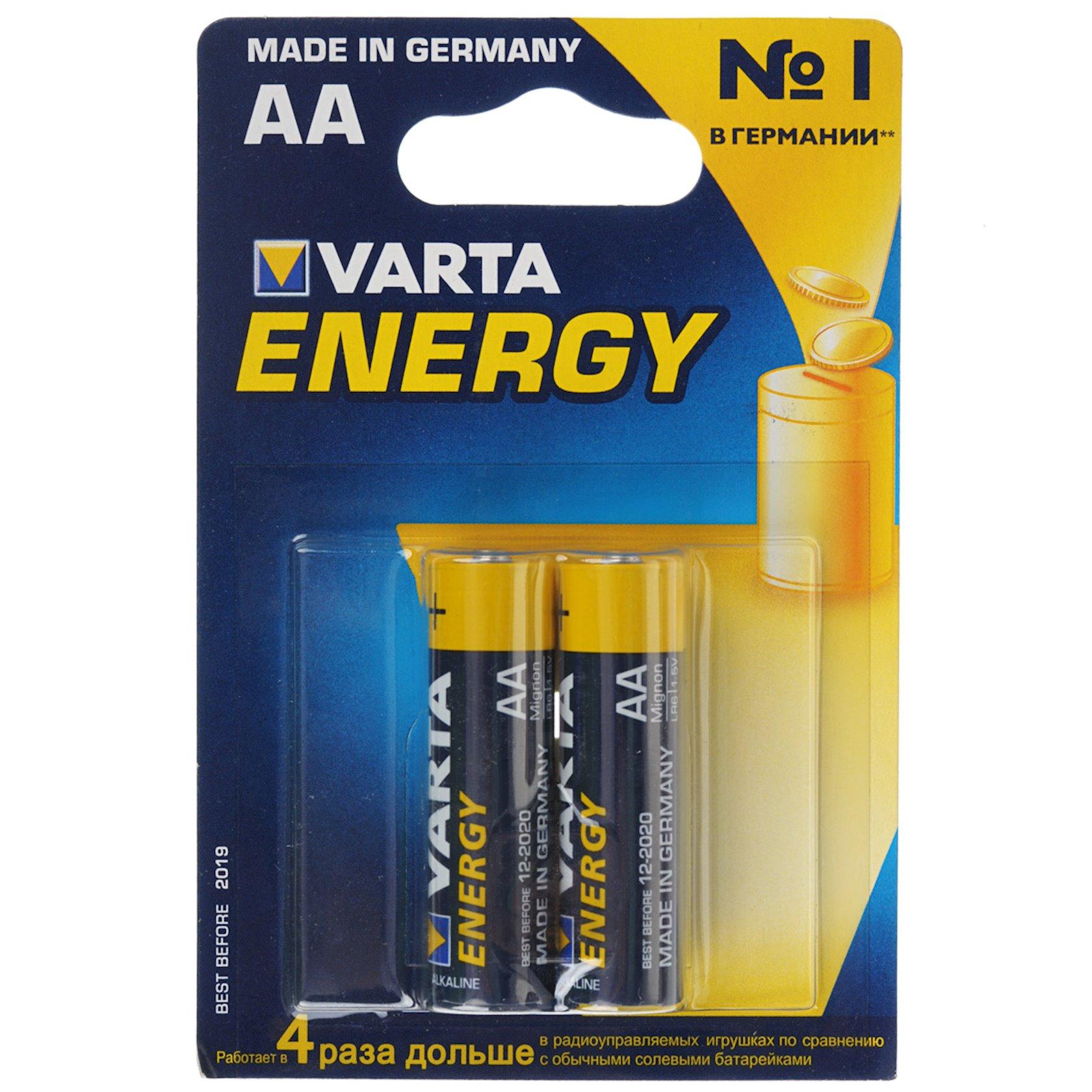 Batareya Varta Energy LR06 AA, 2 əd