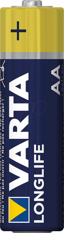Batareya Varta Longlife Extra LR06 AA, 4 əd