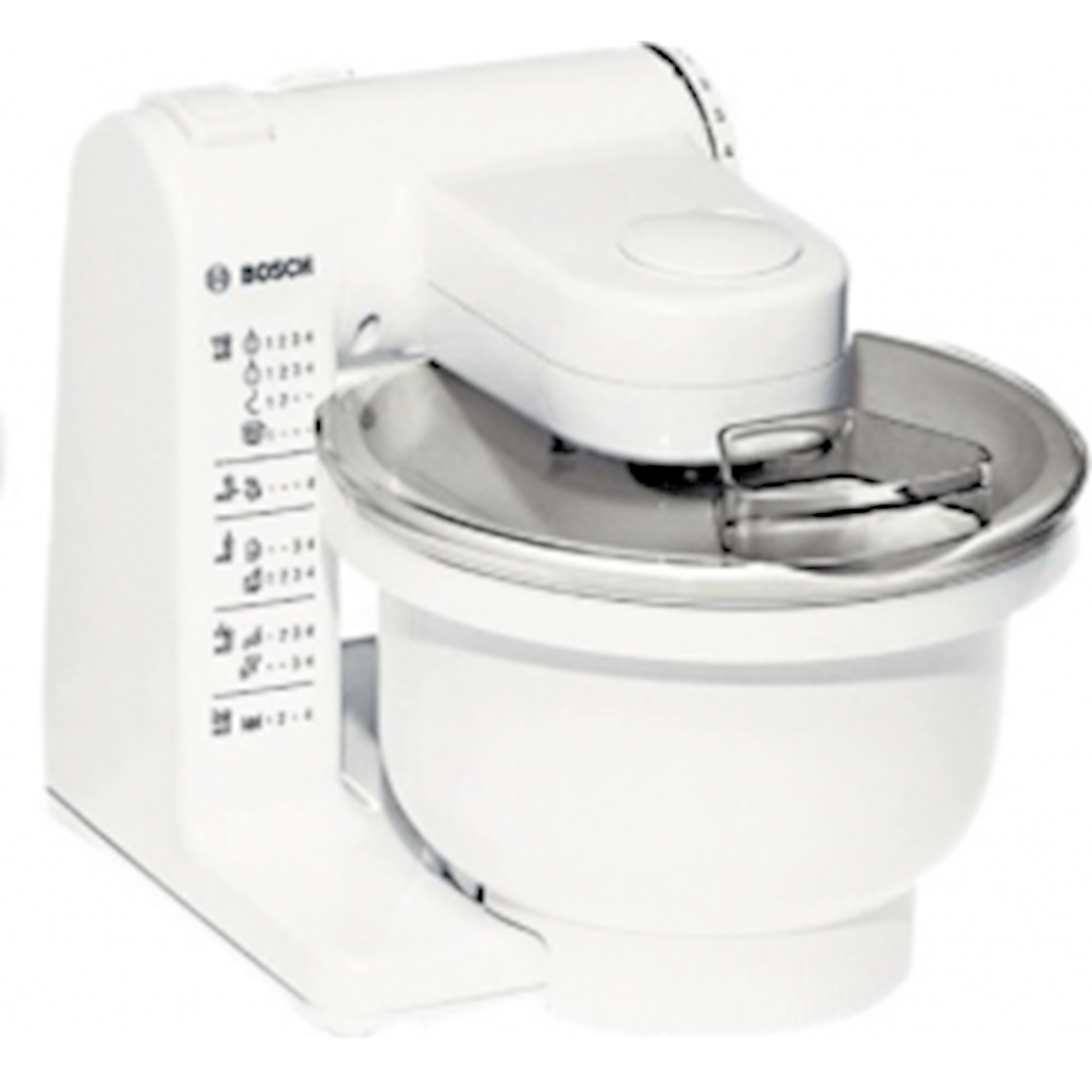 Mətbəx kombaynı Bosch MUM4427 Food Processor Universal Multi Motion 500w White