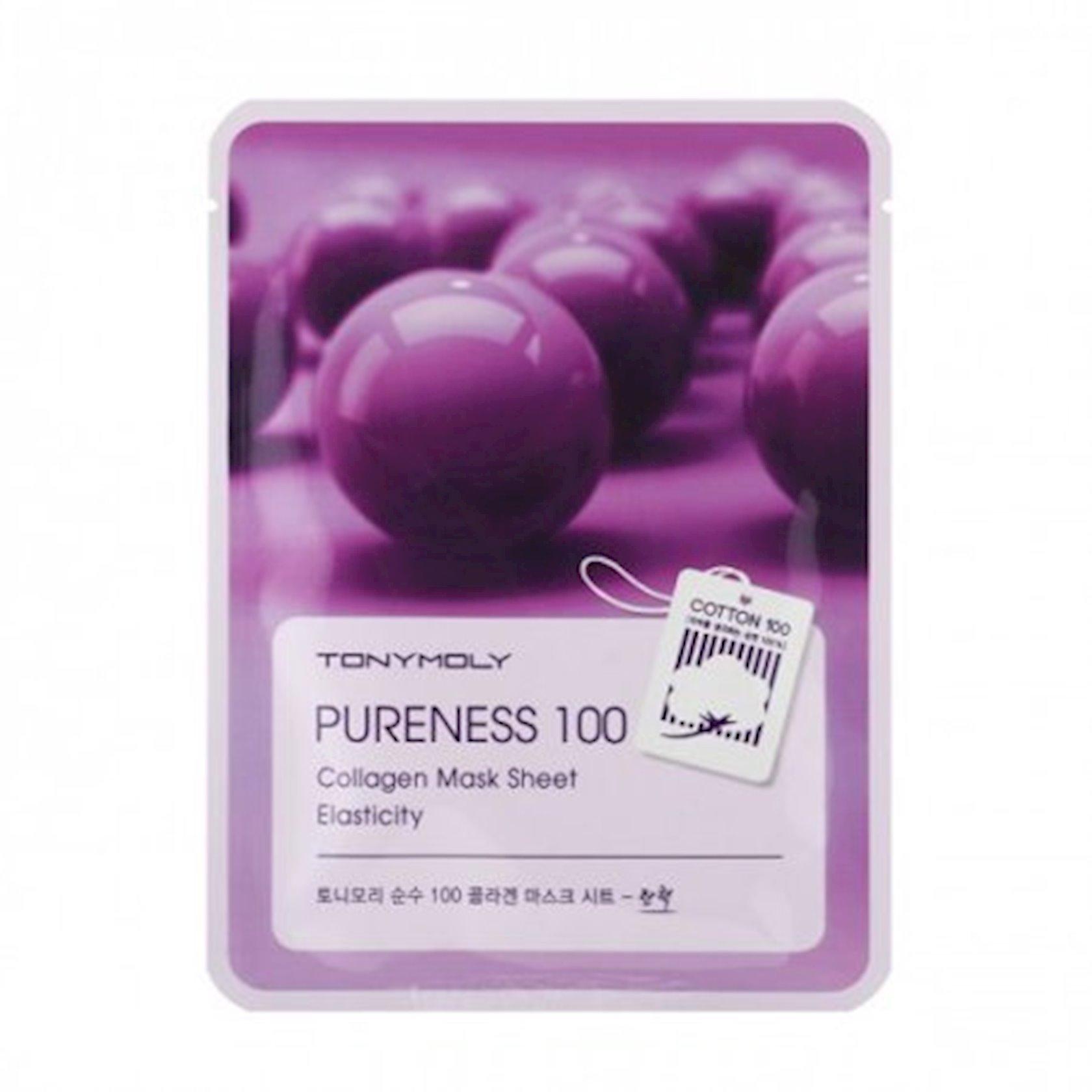 Parça maska Tony Moly Pureness 100 Collagen Mask Sheet